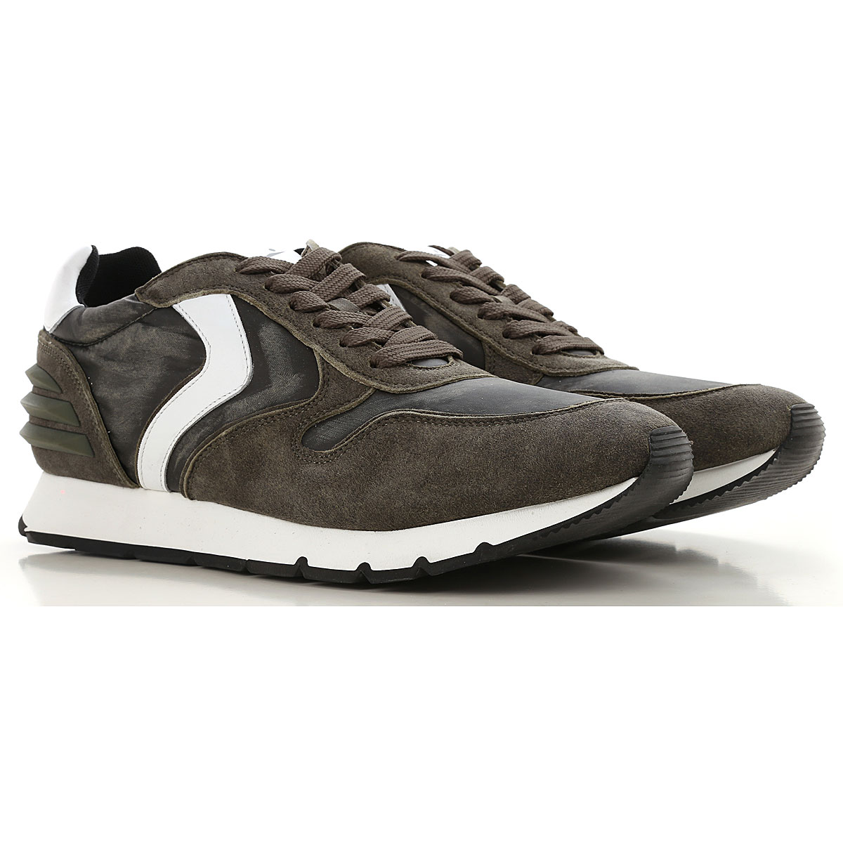 Image of Voile Blanche Sneakers for Men, Dark Green, Suede leather, 2017, 10 10.5 11.5 7.5 8 9