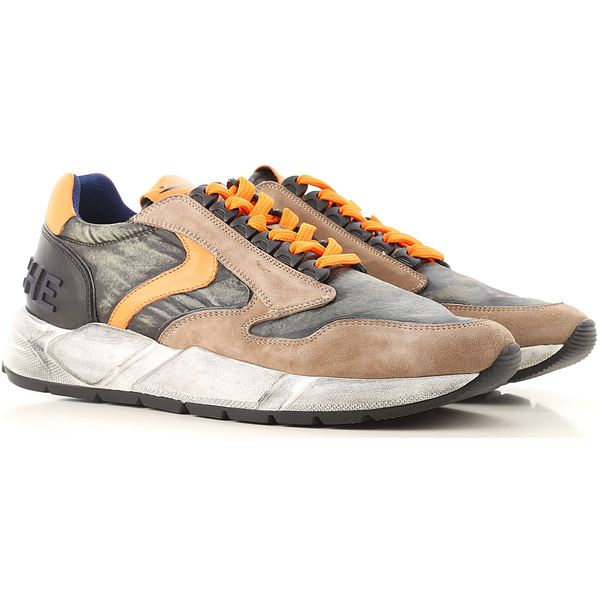 Image of Voile Blanche Sneakers for Men, Stone, Nylon, 2017, 10 10.5 8 9