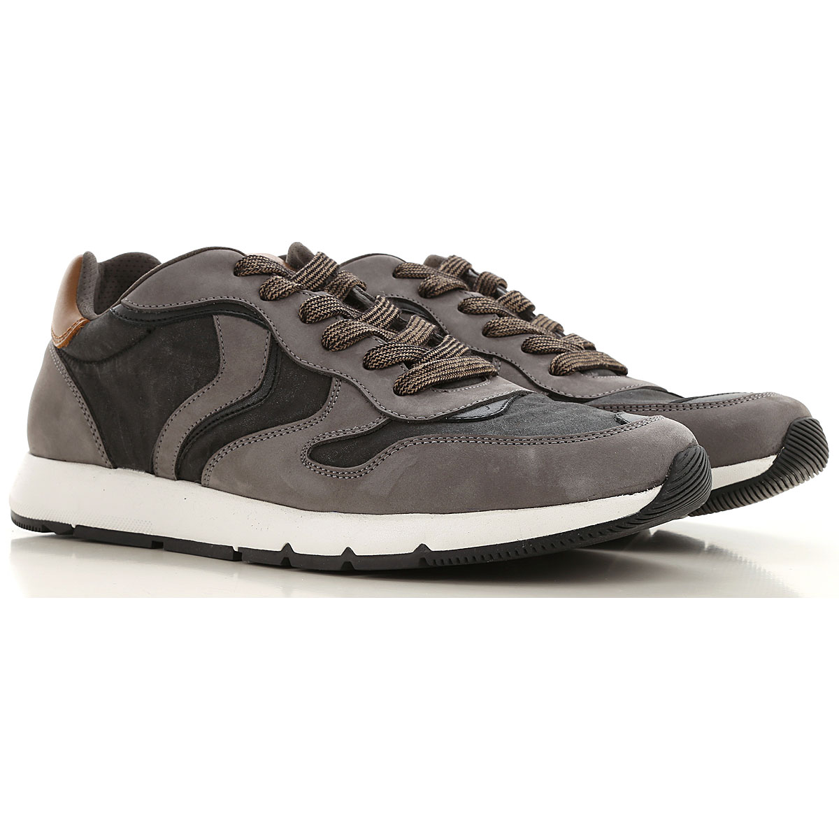 Voile Blanche Sneakers for Men On Sale, Anthracite, Leather, 2019, 10 10.5 8 9