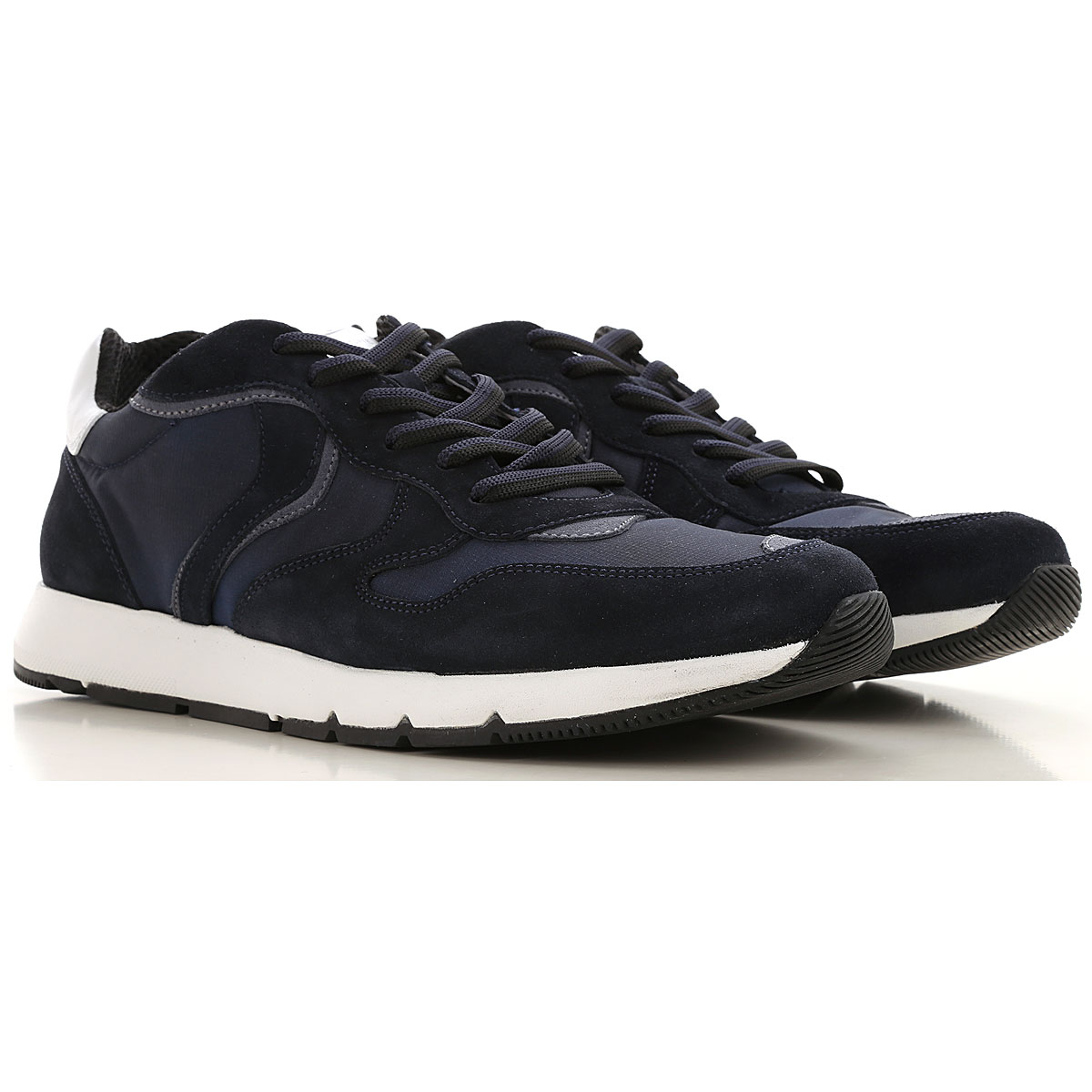 Voile Blanche Sneakers for Men On Sale, Blu, Leather, 2019, 10 10.5 7.5 9