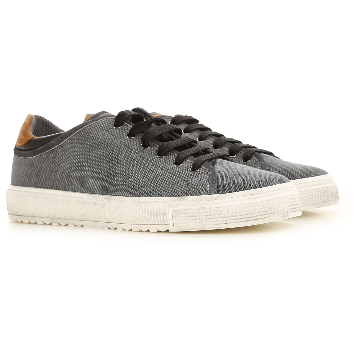 Voile Blanche Sneakers for Men On Sale, Grey, Cotton, 2019, 10 10.5 11.5 9