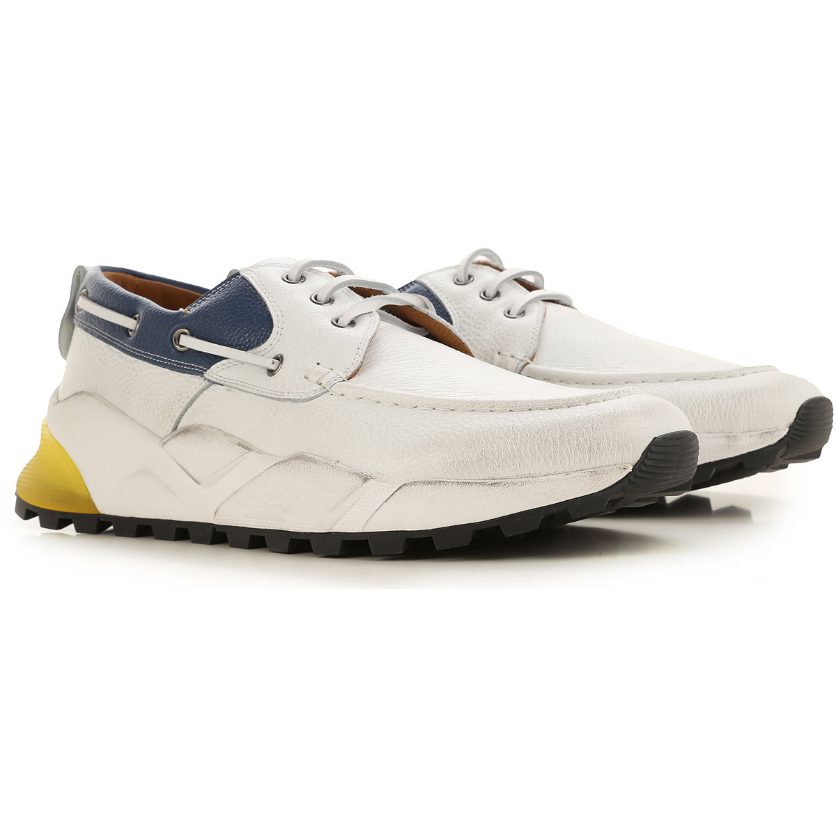 Voile Blanche Sneakers for Men On Sale, White, Leather, 2019, 10 10.5 8 9