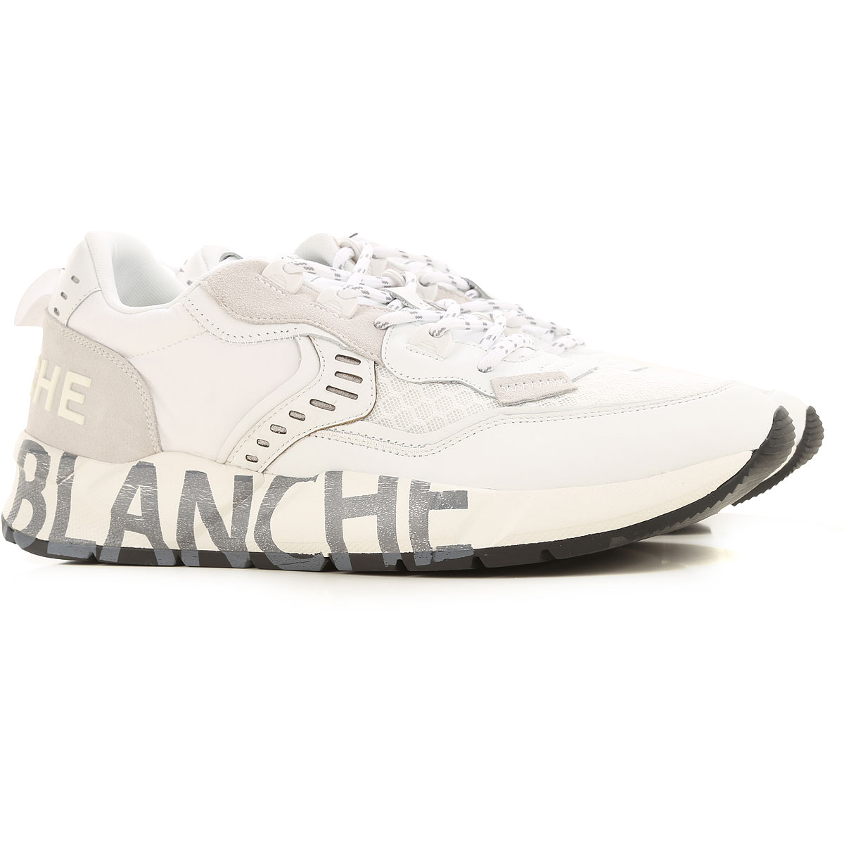Voile Blanche Sneakers for Men On Sale, White, Canvas, 2019, 10 10.5 11.5