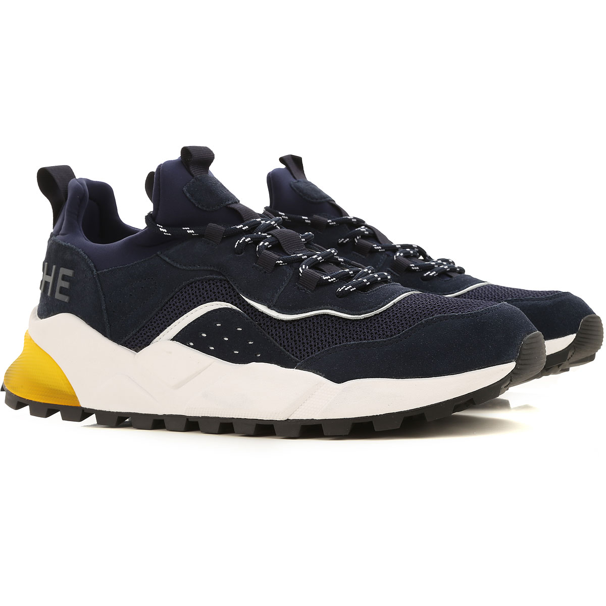 Voile Blanche Sneakers for Men On Sale, Blac, Canvas, 2019, 10 10.5 11.5 9