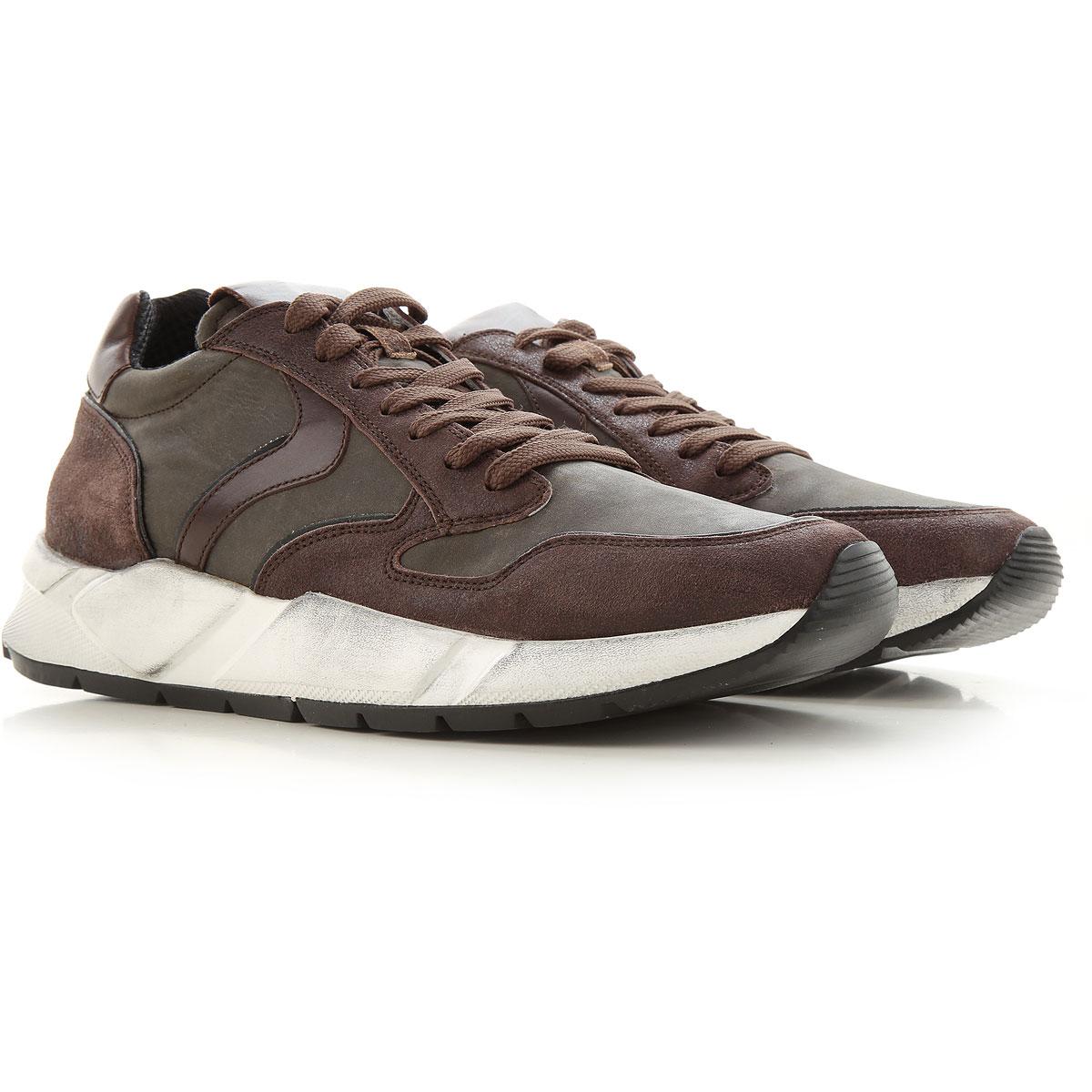 Voile Blanche Sneakers for Men On Sale, Dark Brown, Nylon, 2019, 10 11.5 8 9