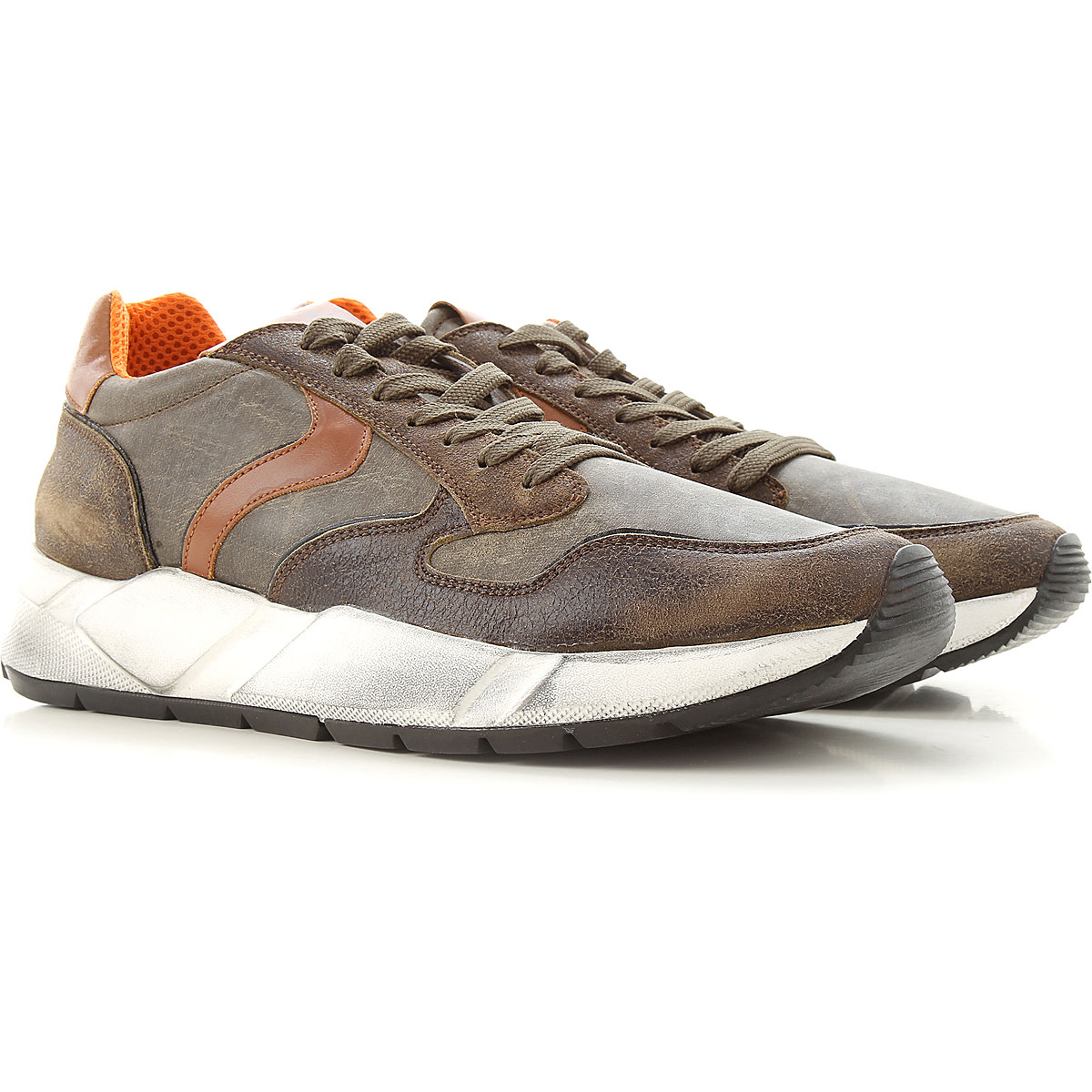 Voile Blanche Sneakers for Men On Sale, Brown, Leather, 2019, 10 11.5 7.5 8