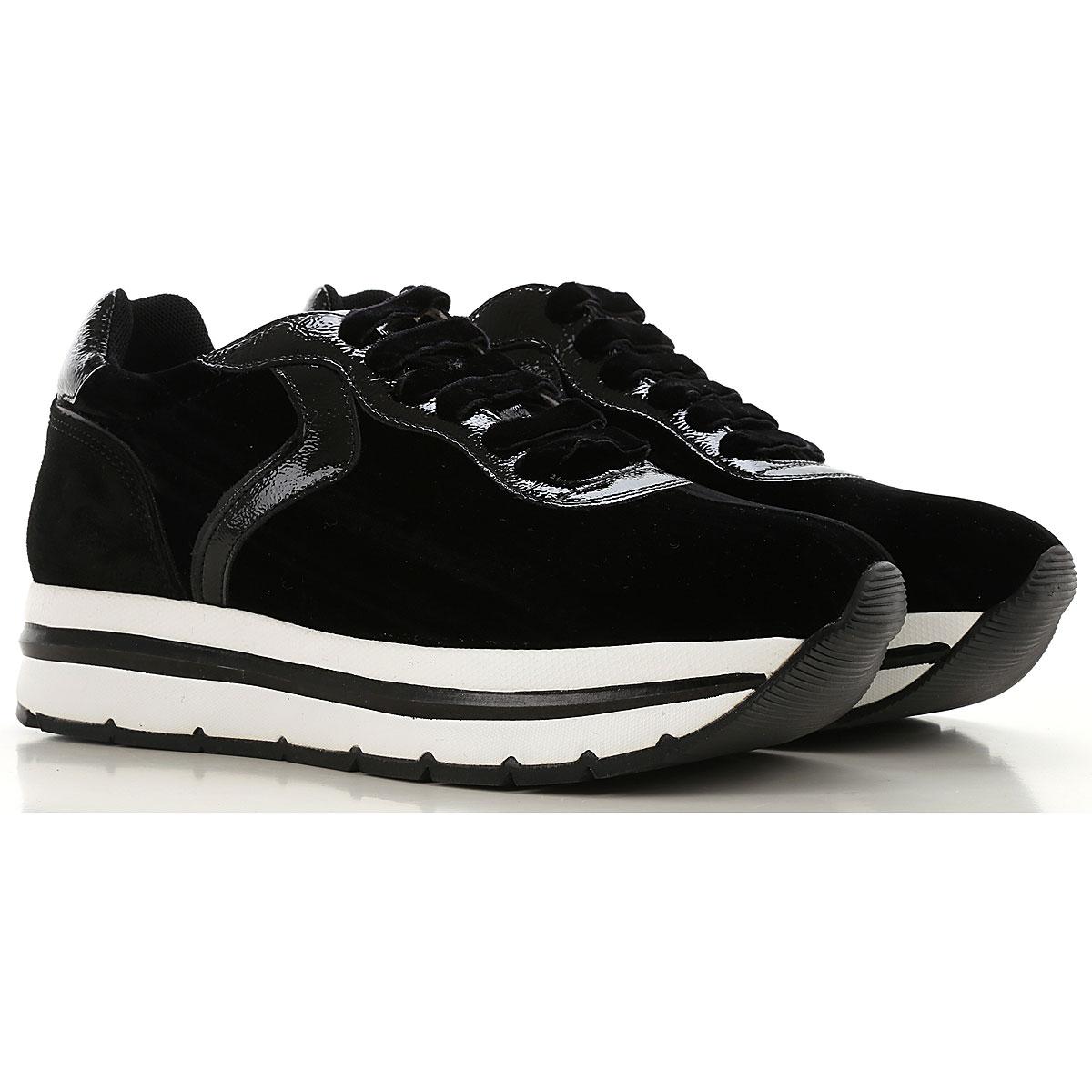 Image of Voile Blanche Sneakers for Women, Black, Velvet, 2017, 10 10 7 7.5 8 8 9 9