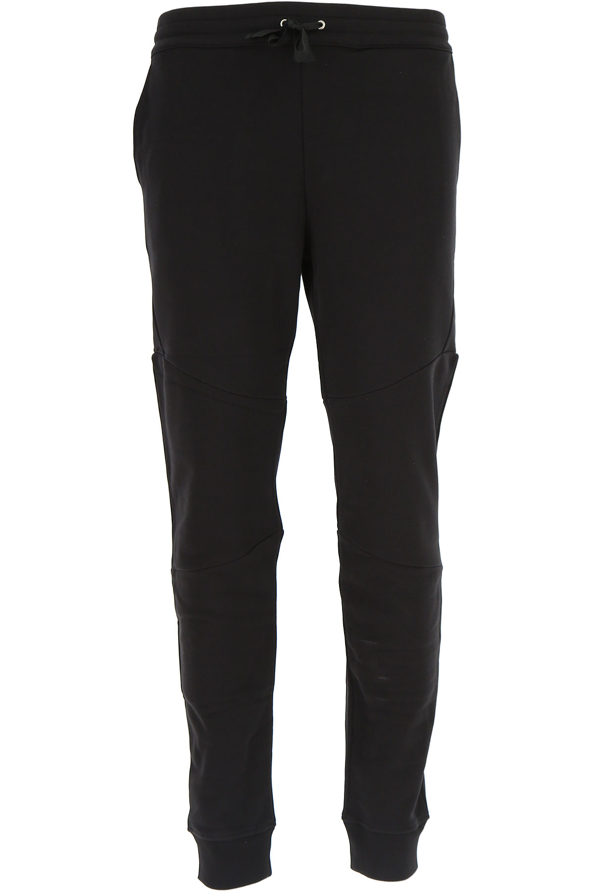 Versace Pants for Men On Sale, Black, Cotton, 2017, L XL