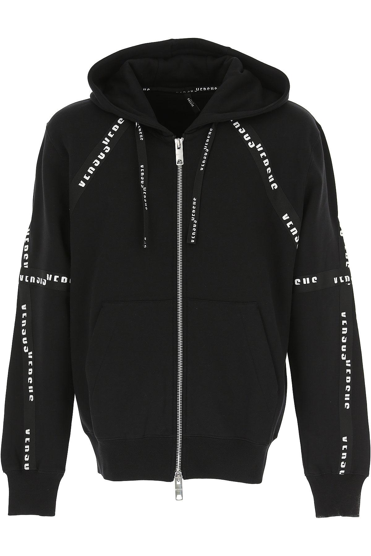 Versace Sweatshirt for Men, Black, Cotton, 2017, L M S XL USA-467325