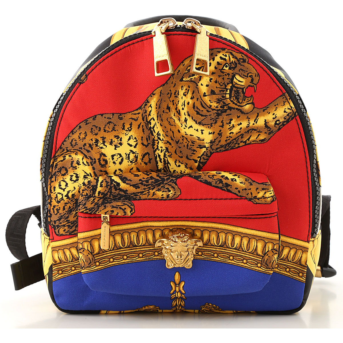 Versace Backpack for Women On Sale in Outlet, Red, Textile, 2019
