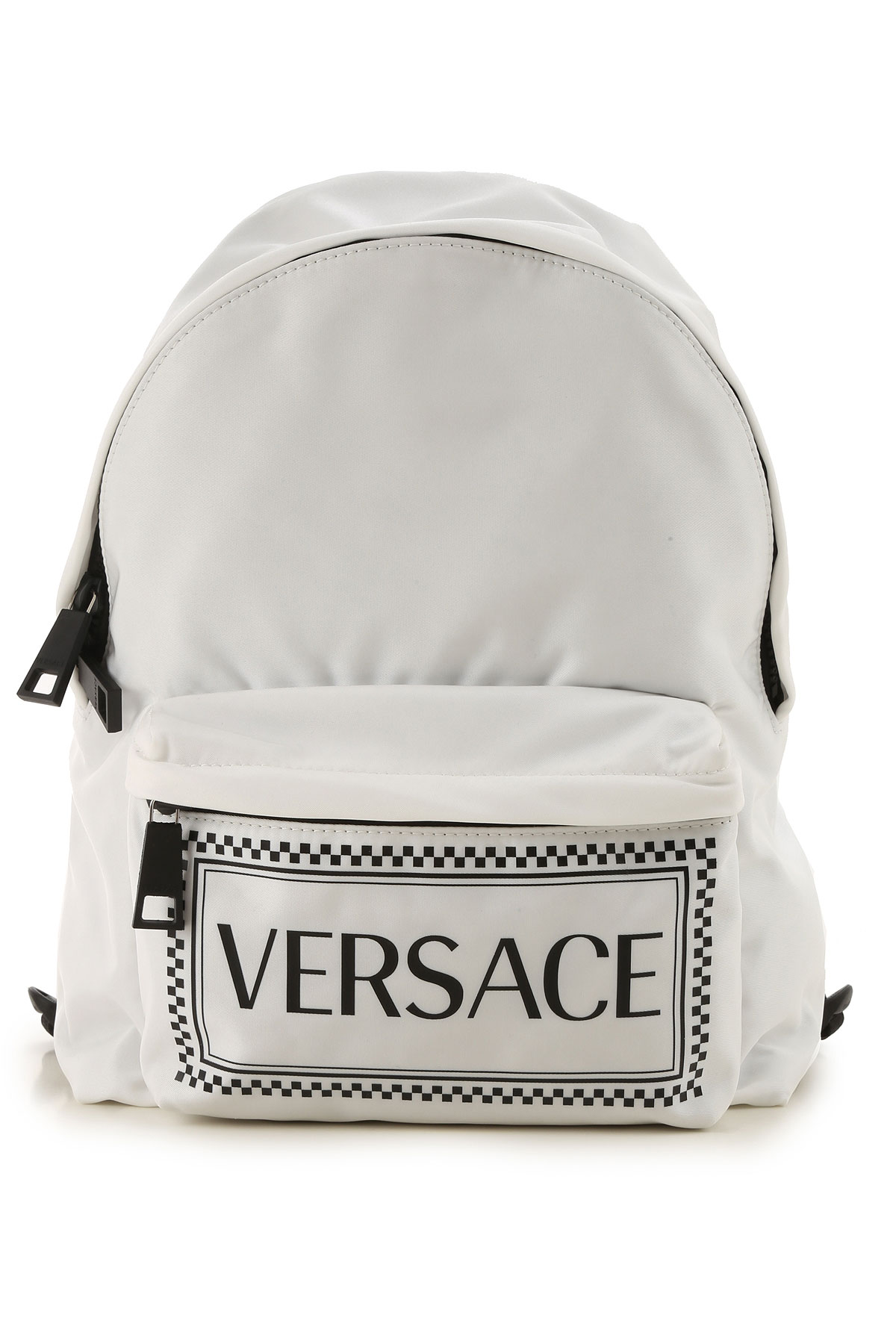 Versace Backpack for Women On Sale in Outlet, White, Nylon, 2019