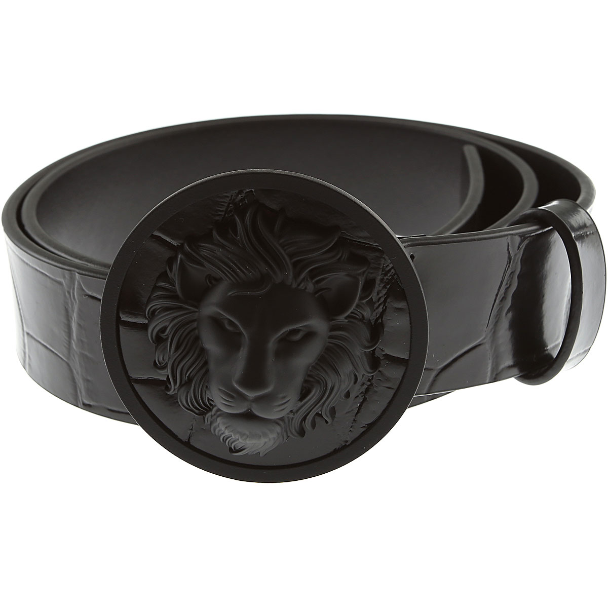 Gianni Versace Mens Belts On Sale, Black, Leather, 2019, 34 38