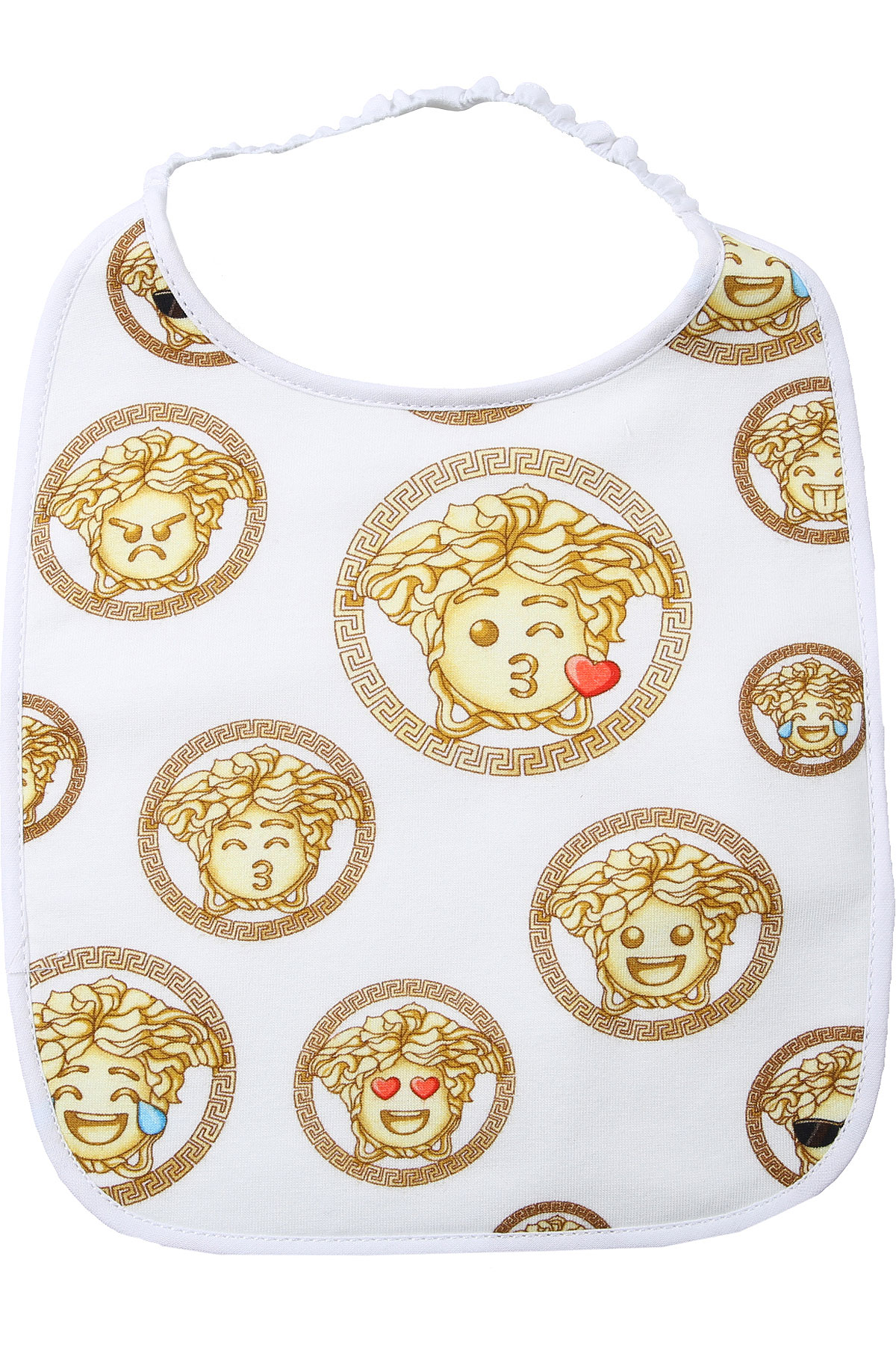 Versace Baby Bodysuits & Onesies for Girls On Sale, White, Cotton, 2019