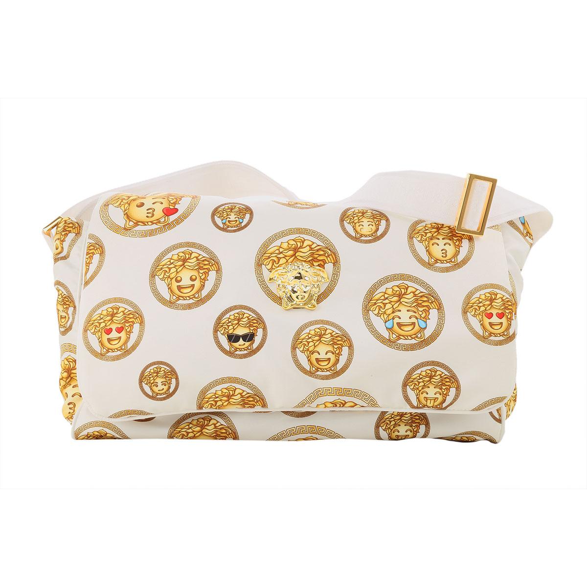 Versace Baby Girls Handbag On Sale, White, polyester, 2019