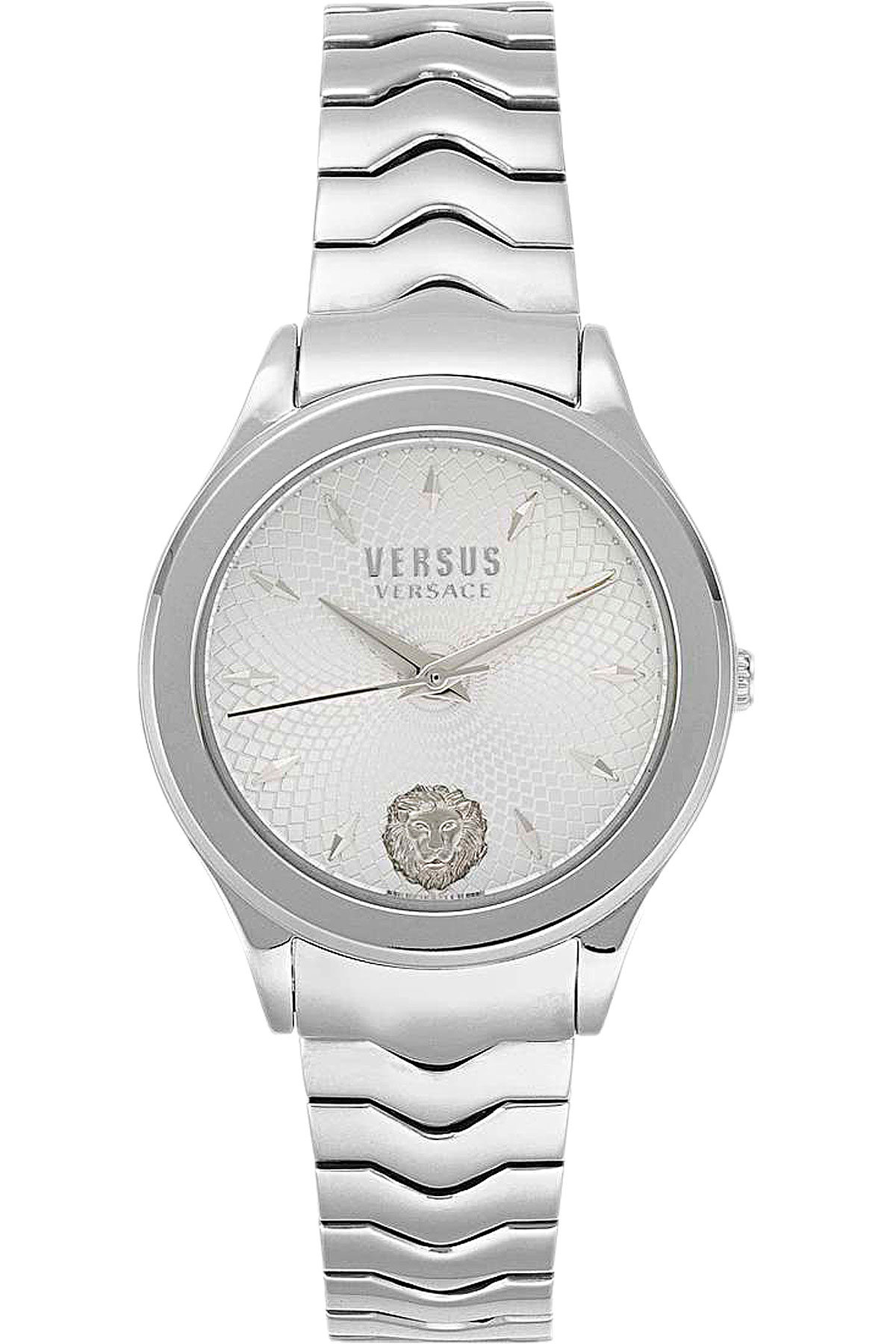 Versace_Watch_for_Women_On_Sale,_Silver,_Stainless_Steel,_2019