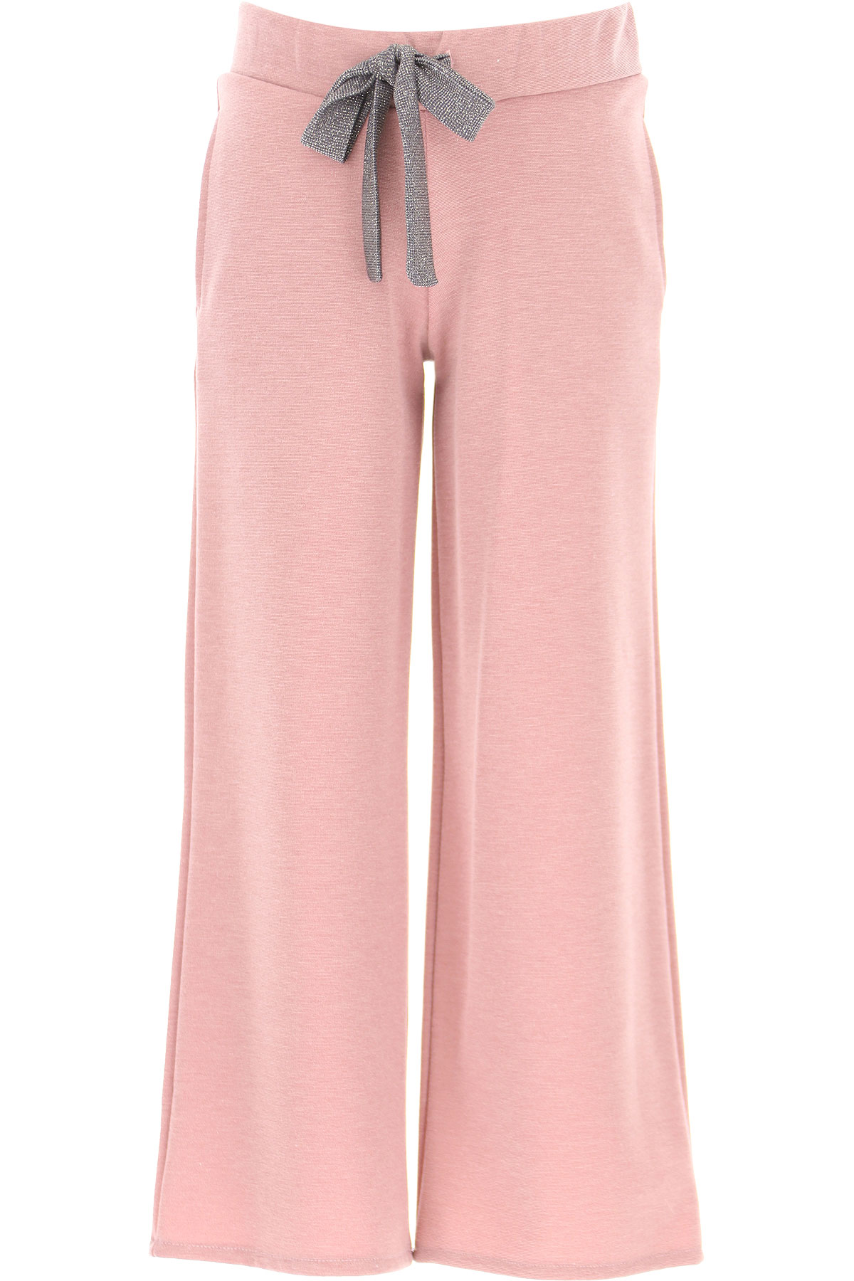 Vicolo Kids Pants for Girls On Sale, Pink Lurex, polyester, 2019, 14Y 4Y 6Y