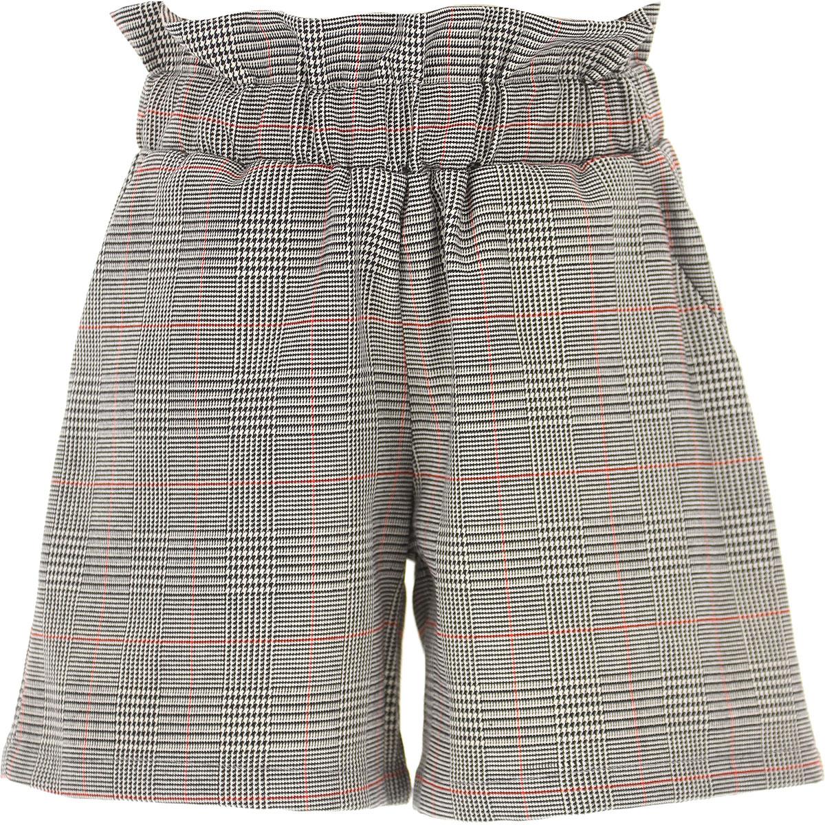 Vicolo Kids Shorts for Girls On Sale, Black, polyester, 2019, 10Y 12Y 4Y 6Y 8Y