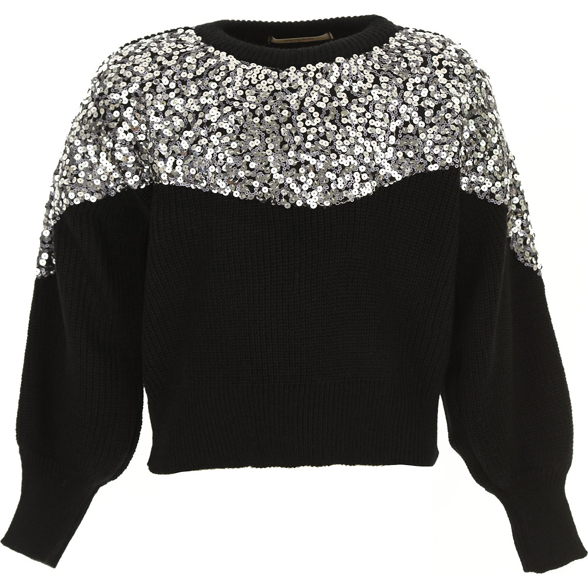 Vicolo Kids Sweaters for Girls On Sale, Black, Acrylic, 2019, 10Y 12Y 4Y