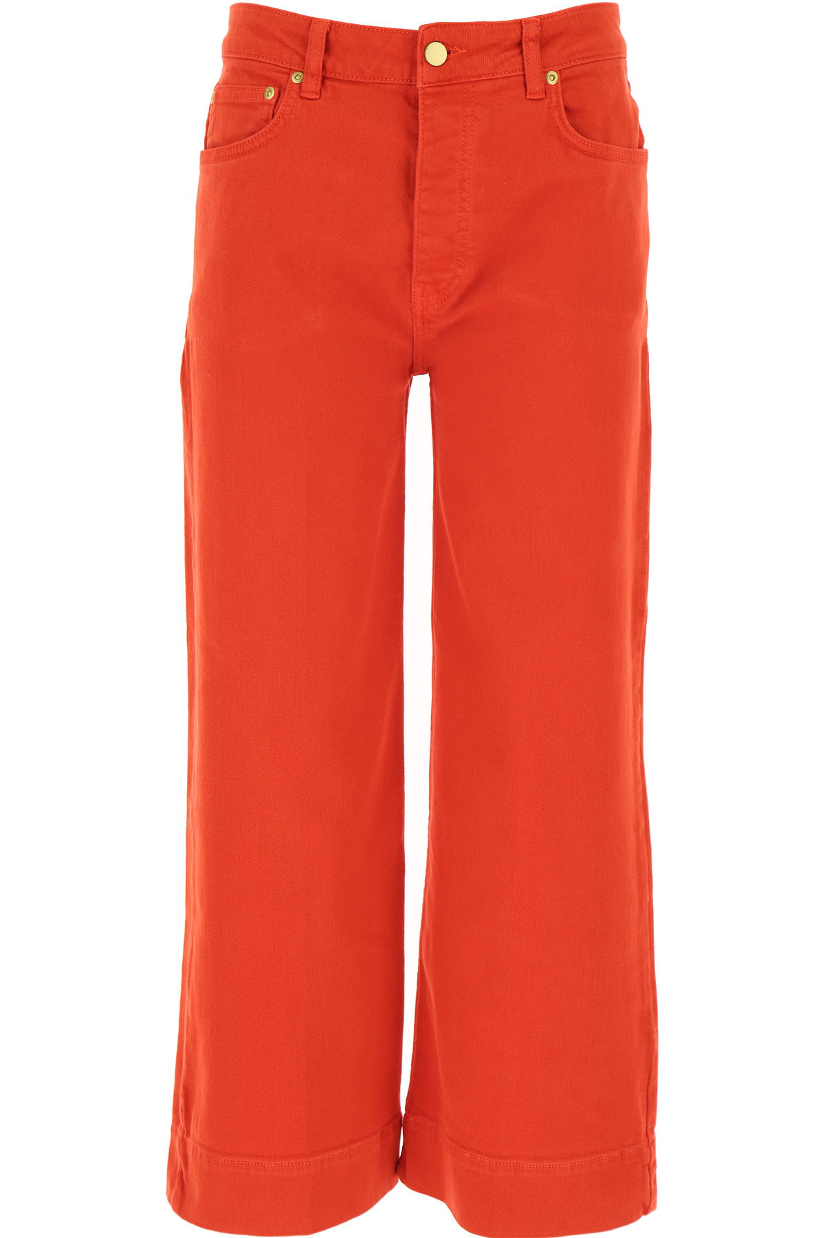 Victoria Beckham Jeans On Sale, Red, Cotton, 2019, 24 25 26 27