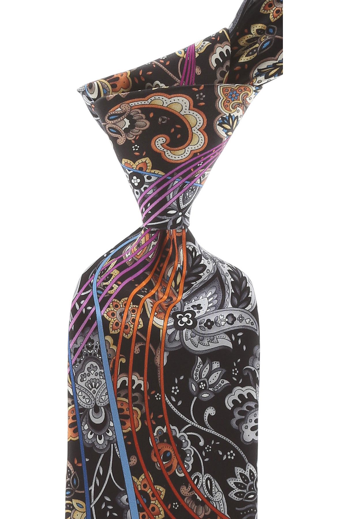 Pancaldi Ties On Sale, Beige Brown, Silk, 2019