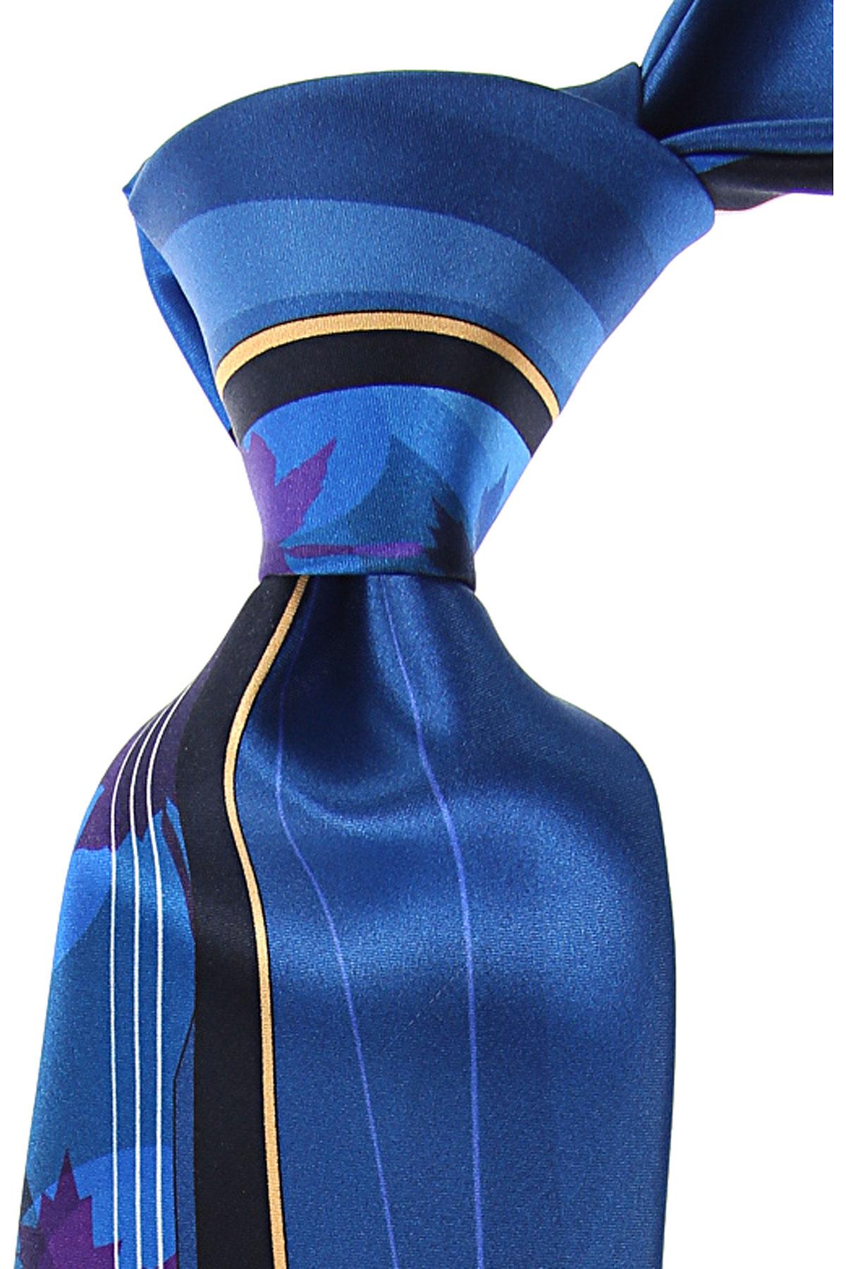 Pancaldi Ties On Sale, Cobalt Blue, Silk, 2019