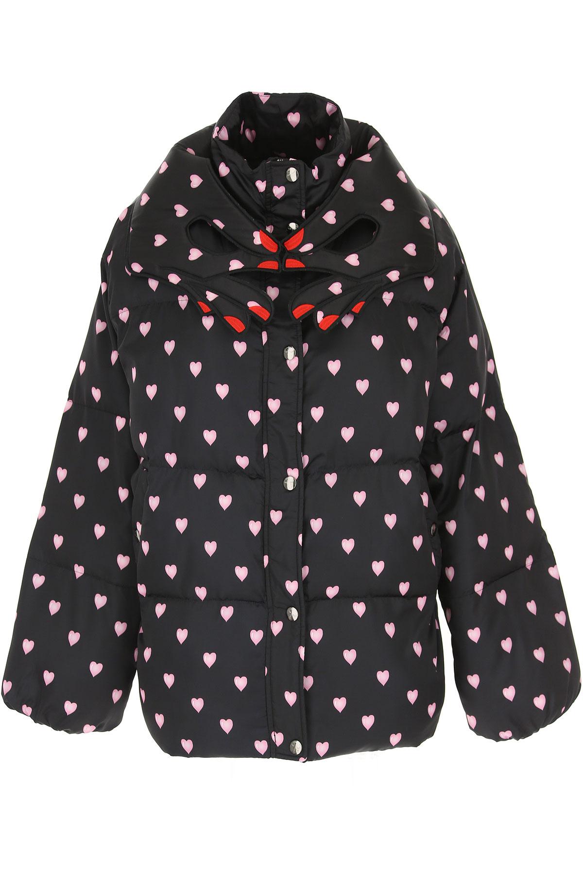 Image of Vivetta Down Jacket for Women, Puffer Ski Jacket, Black, polyester, 2017, 2 4 6