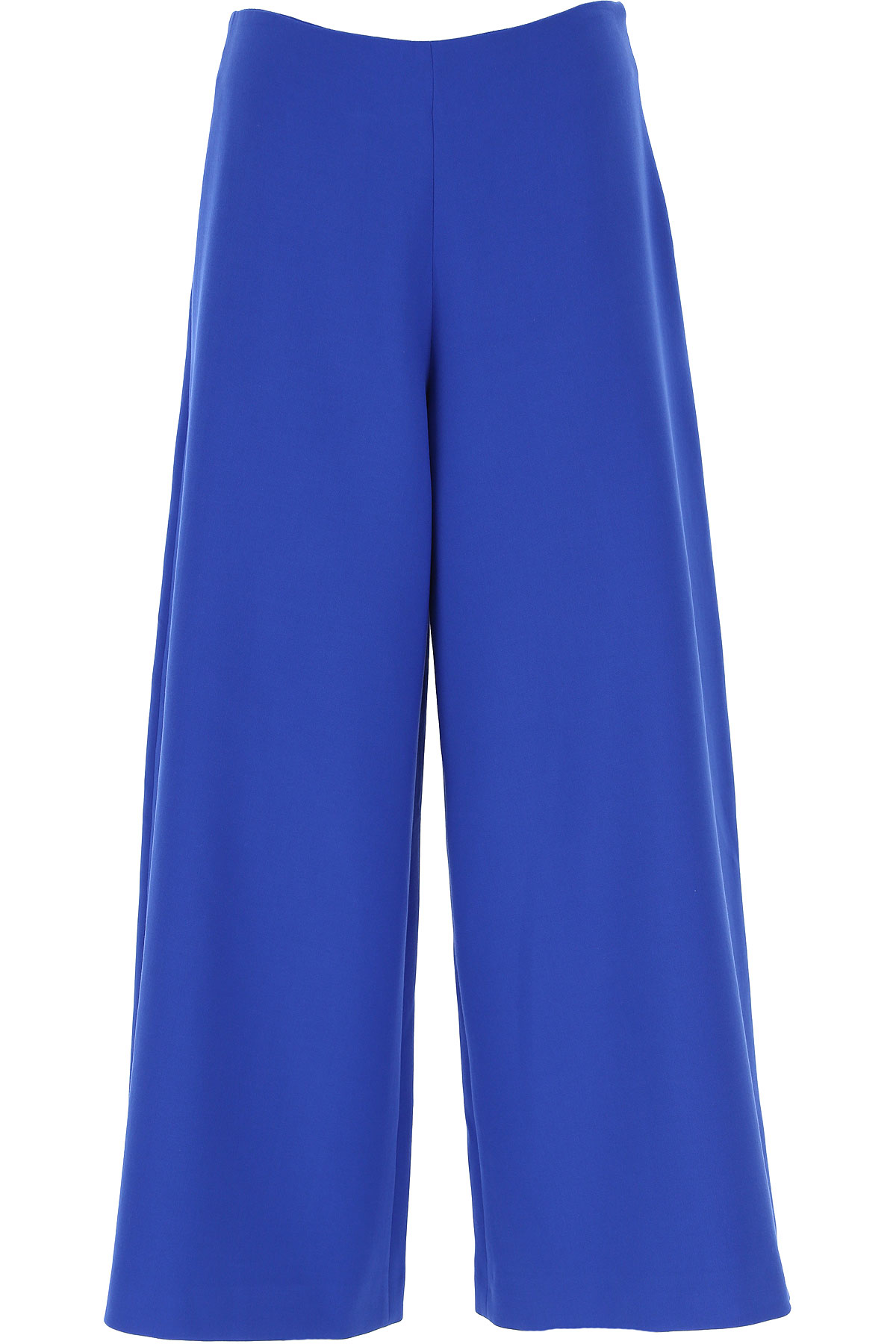 Vivetta Pants for Women On Sale, Blue, polyester, 2019, 26 28 30
