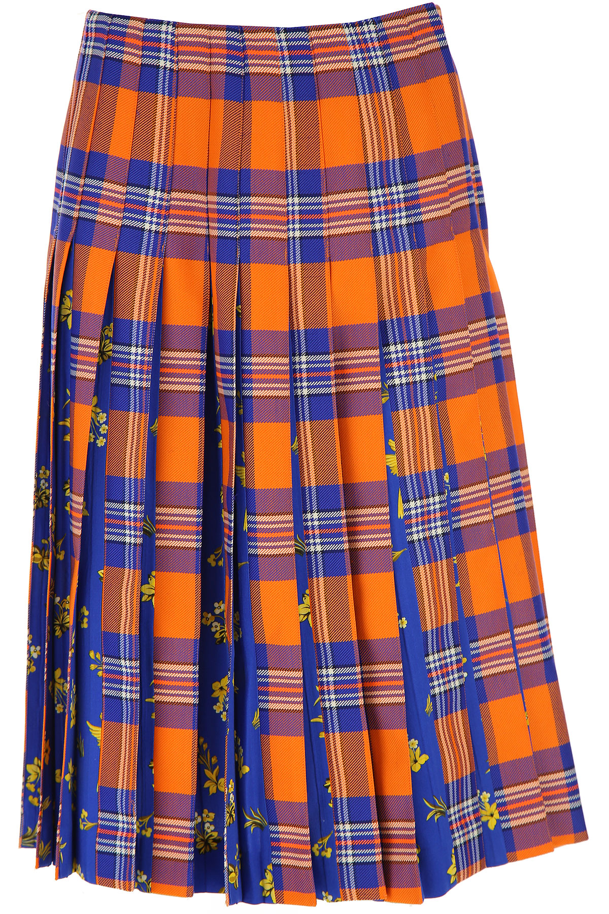 Vivetta Skirt for Women On Sale, Orange, polyester, 2019, 26 28