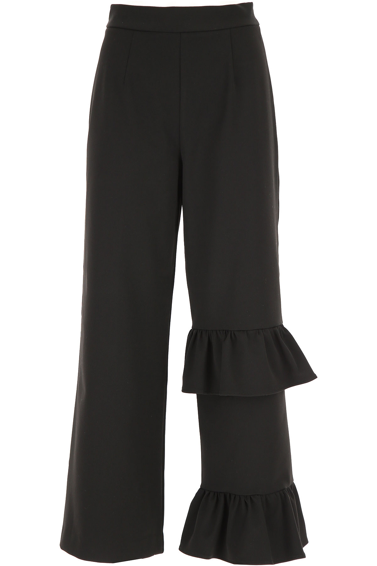 Vivetta Pants for Women On Sale, Black, polyester, 2019, 26 28