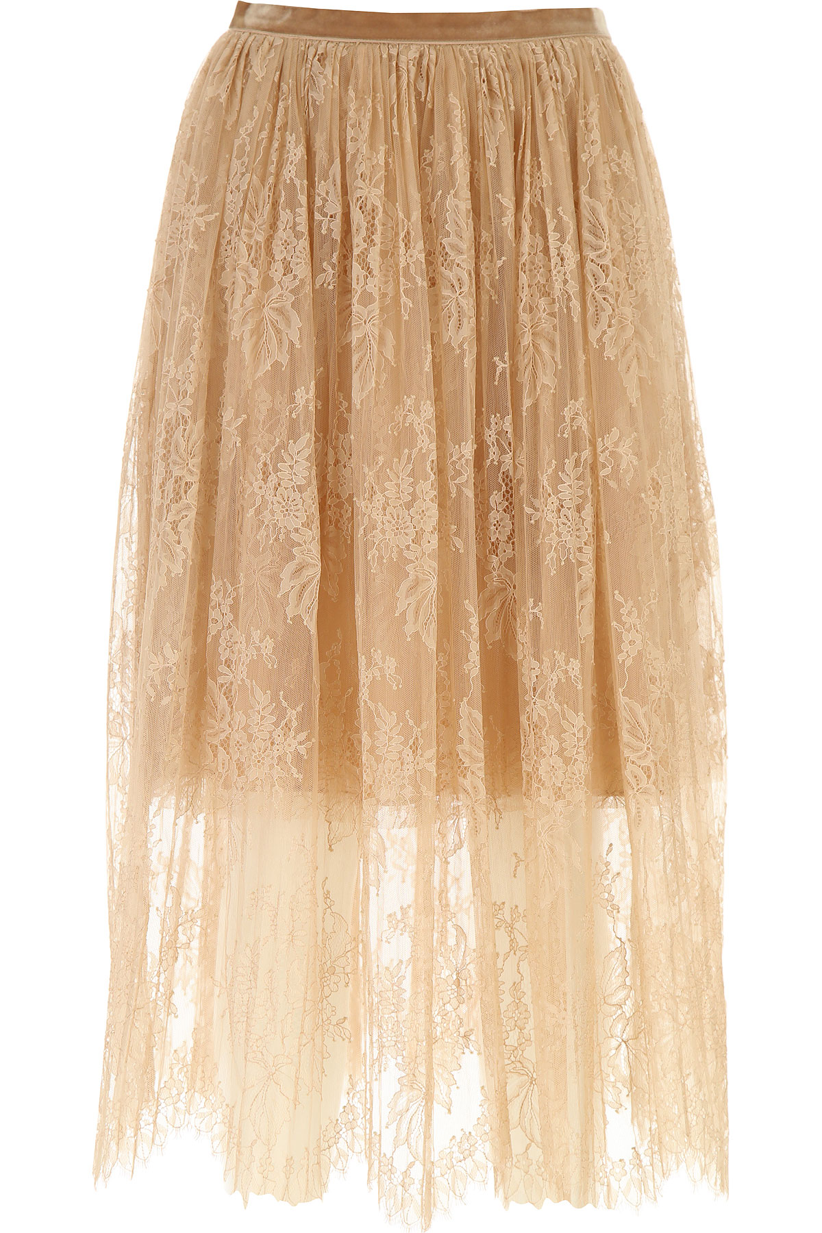 Vivetta Skirt for Women On Sale, Nude, polyamide, 2019, 26 28 30