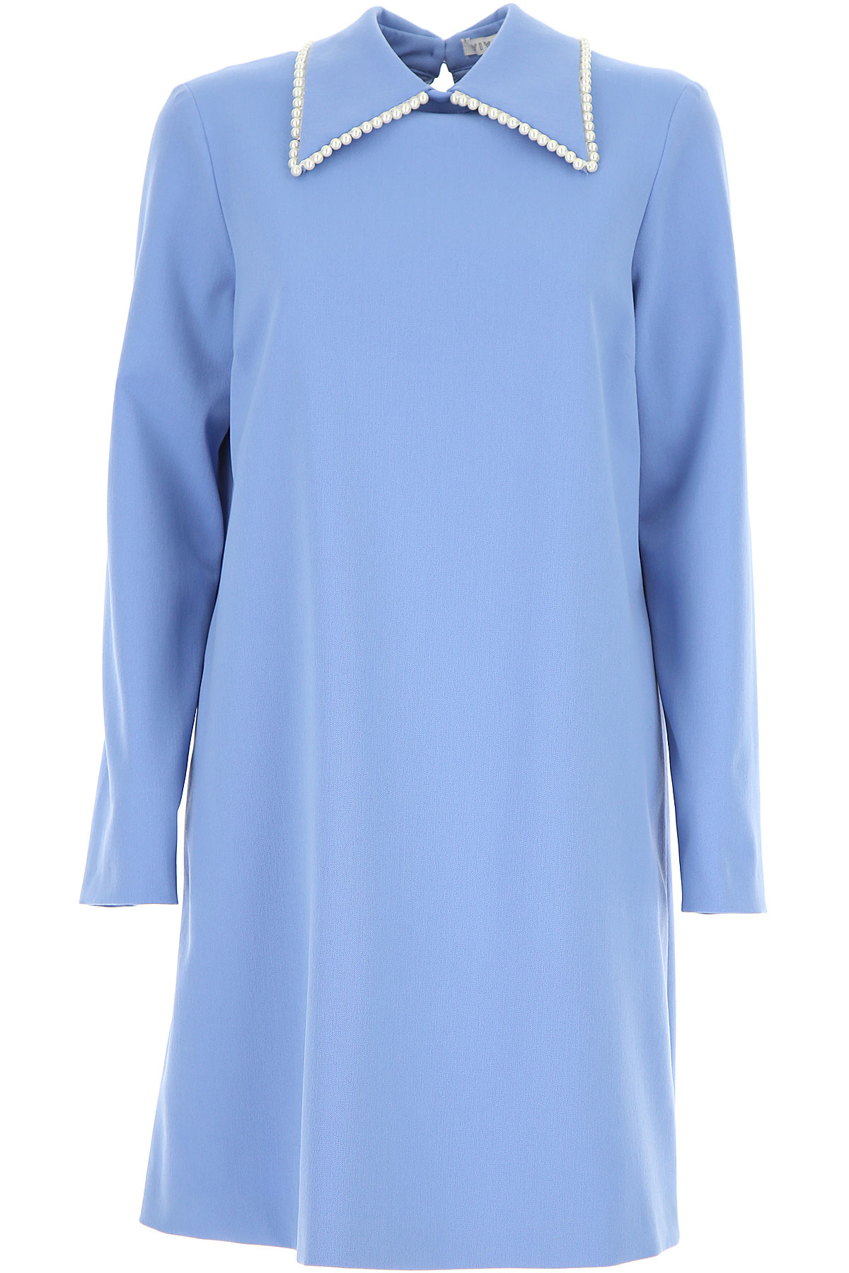 Vivetta Dress for Women, Evening Cocktail Party On Sale, Sky Blue, polyester, 2019, 4 6 8