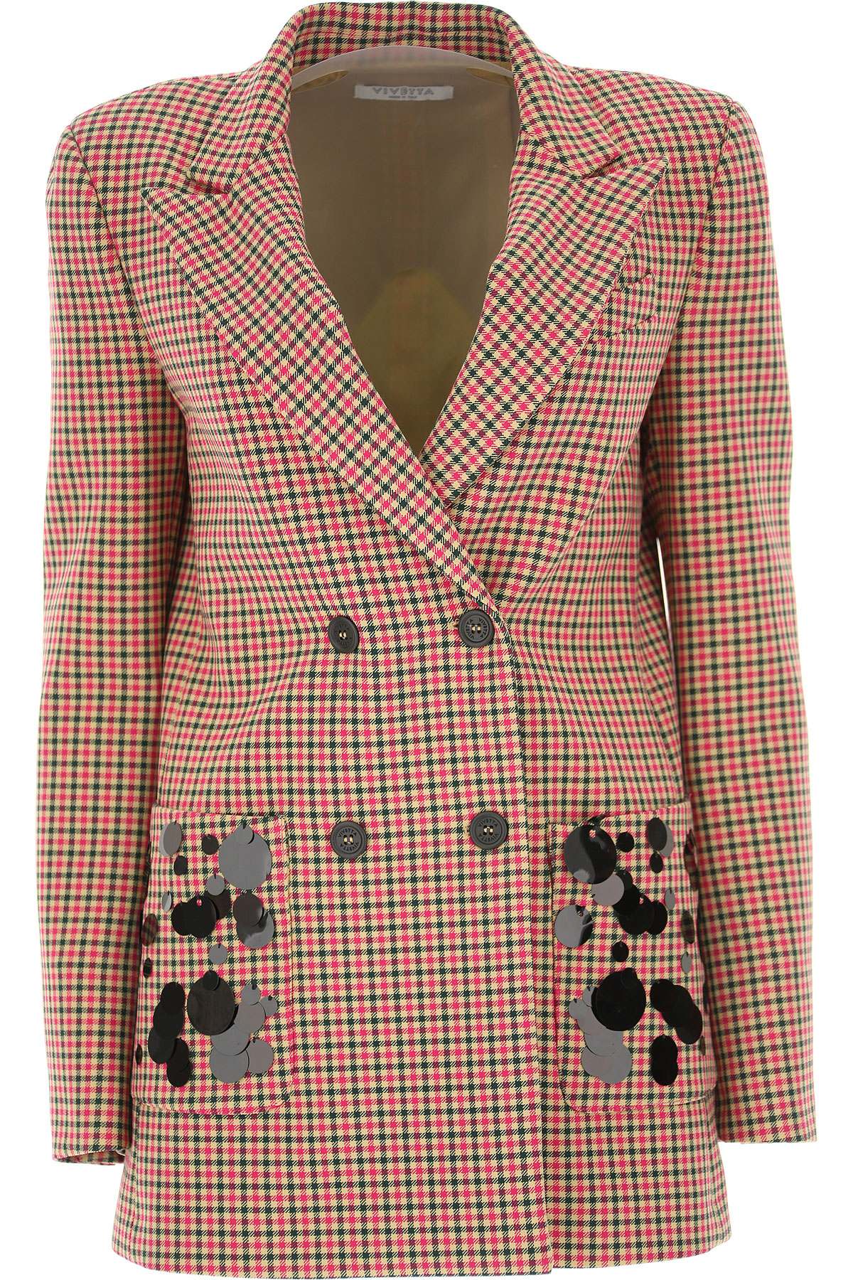 Image of Vivetta Blazer for Women, fuxia, polyester, 2017, 2 6