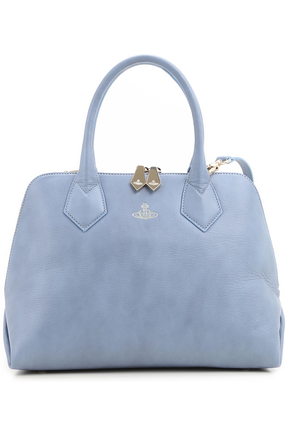 Vivienne Westwood Top Handle Handbag, Azure, Leather, 2017 USA-362267