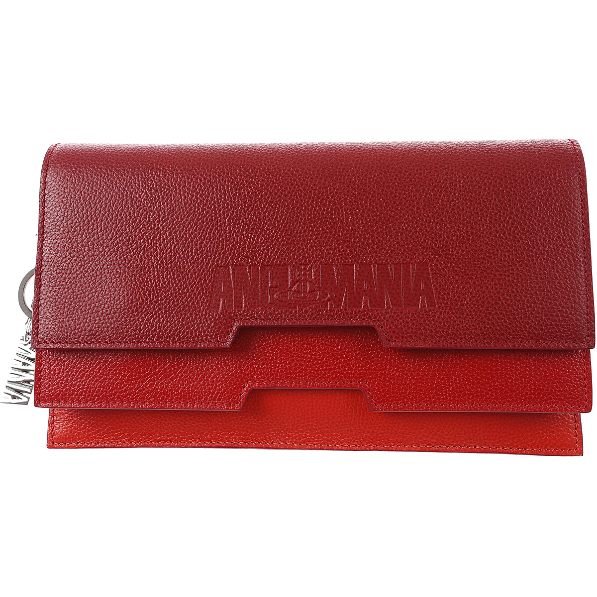 Vivienne Westwood Clutch Bag, Anglomania, Red, Leather, 2019
