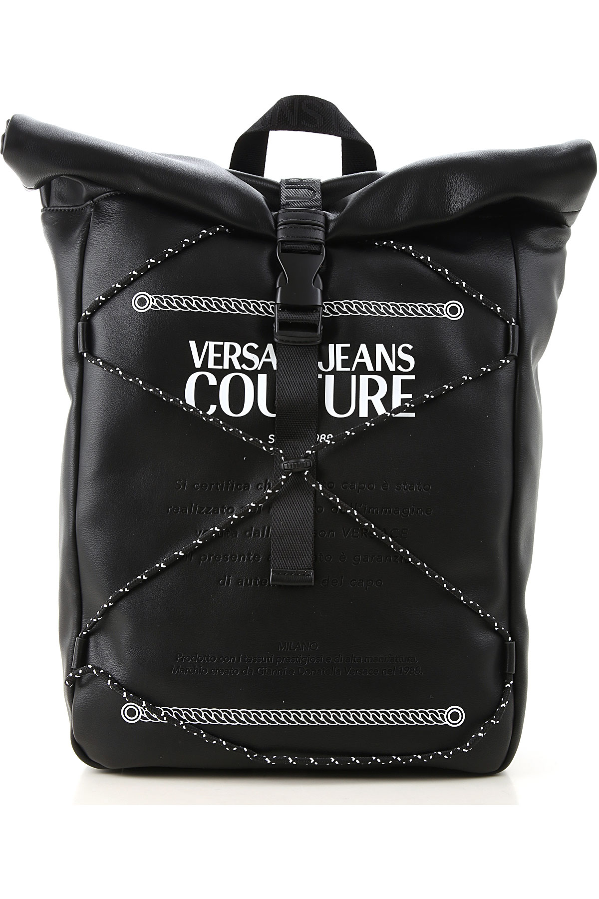Versace Jeans Couture Briefcases On Sale, Black, polyester, 2019