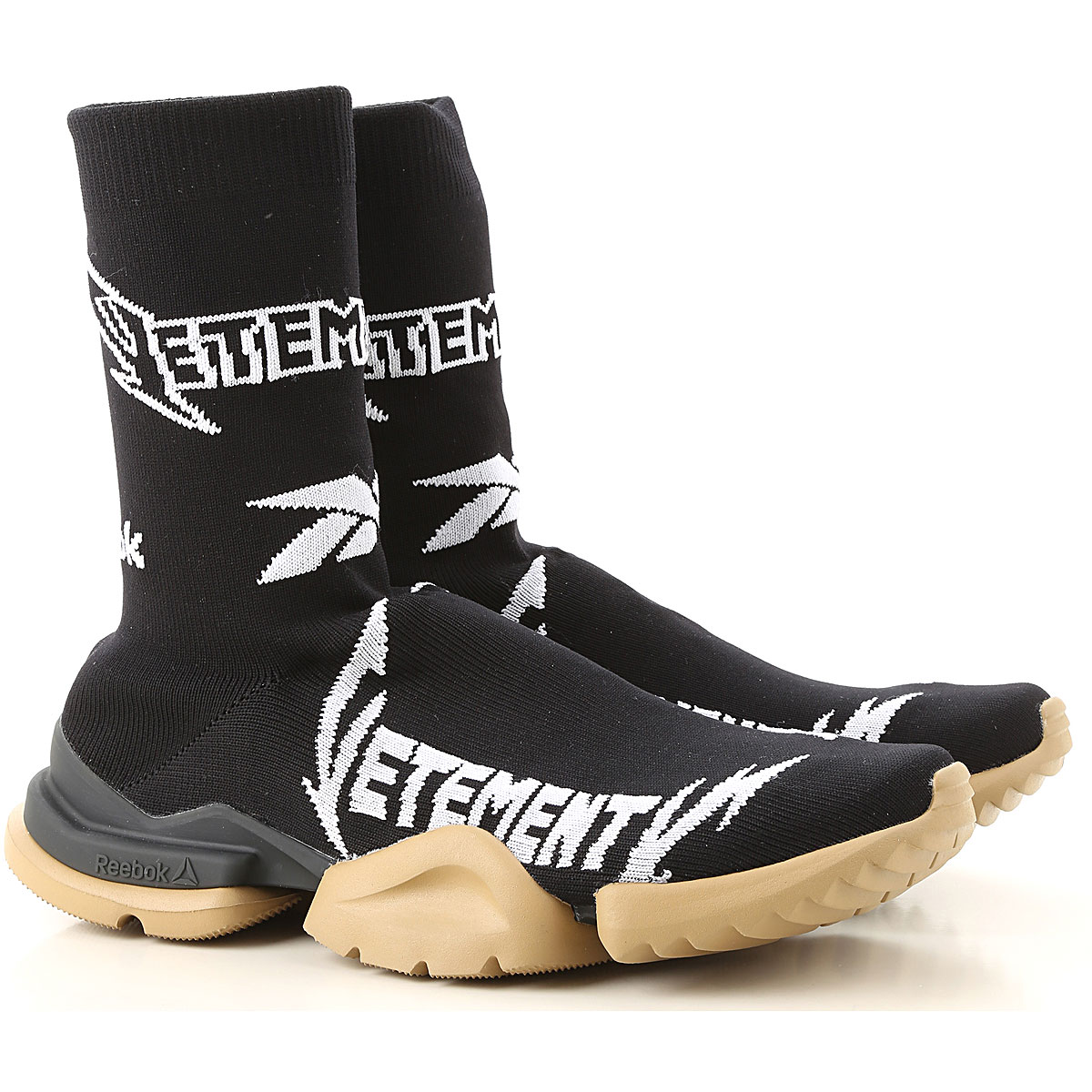 Vetements Sneakers for Men On Sale in Outlet, Black, Textile, 2019, 10.25 11 9.5