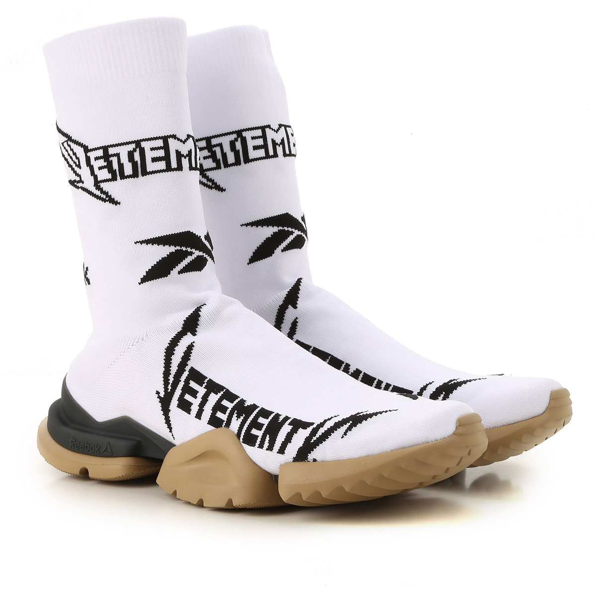 Vetements Sneakers for Men On Sale in Outlet, White, Textile, 2019, 10 10.25 11 9 9.5