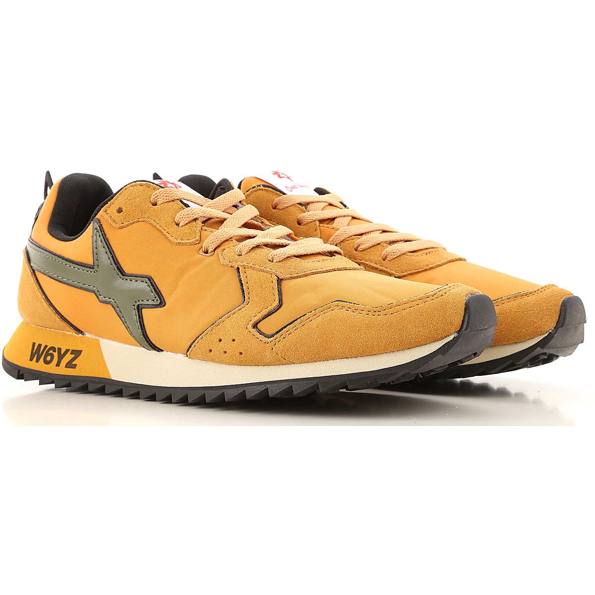 W6YZ Sneakers for Men On Sale, Pumpkin, Velour, 2019, 10 10.5 11.5 9