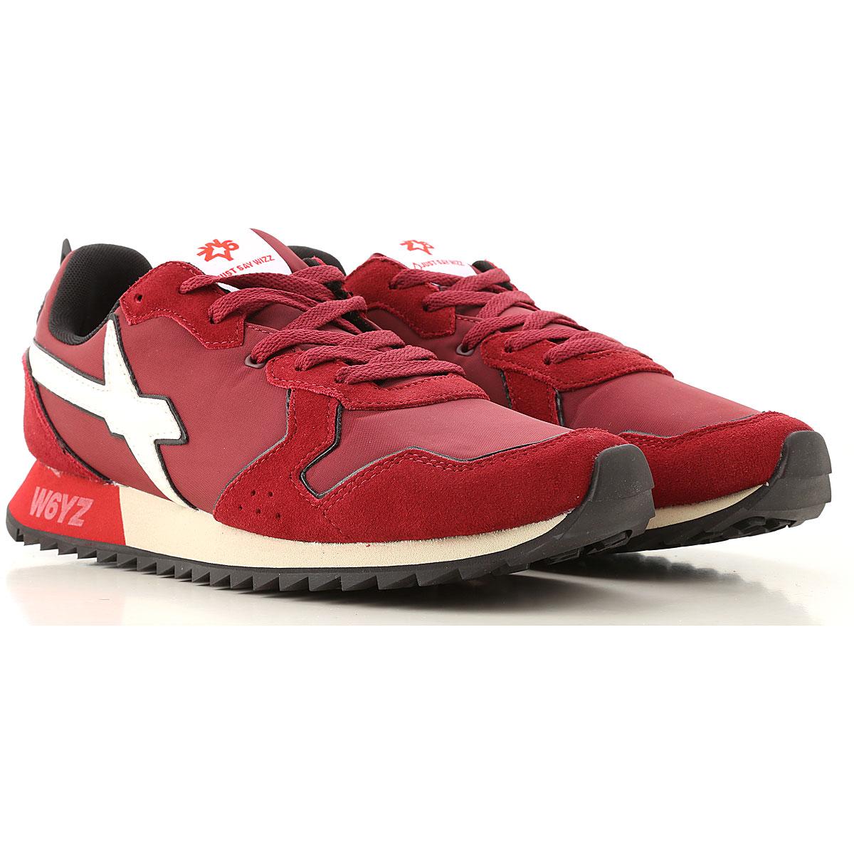 W6YZ Sneakers for Men On Sale, Bordeaux, Leather, 2019, 10 10.5 11.5 9