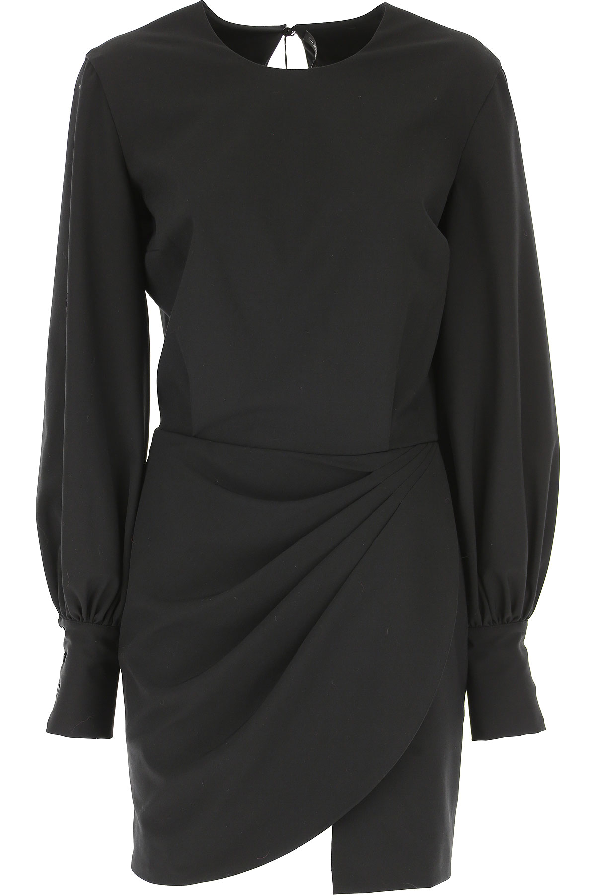 Image of Wandering Dress for Women, Evening Cocktail Party, Black, polyamide, 2017, 4 6