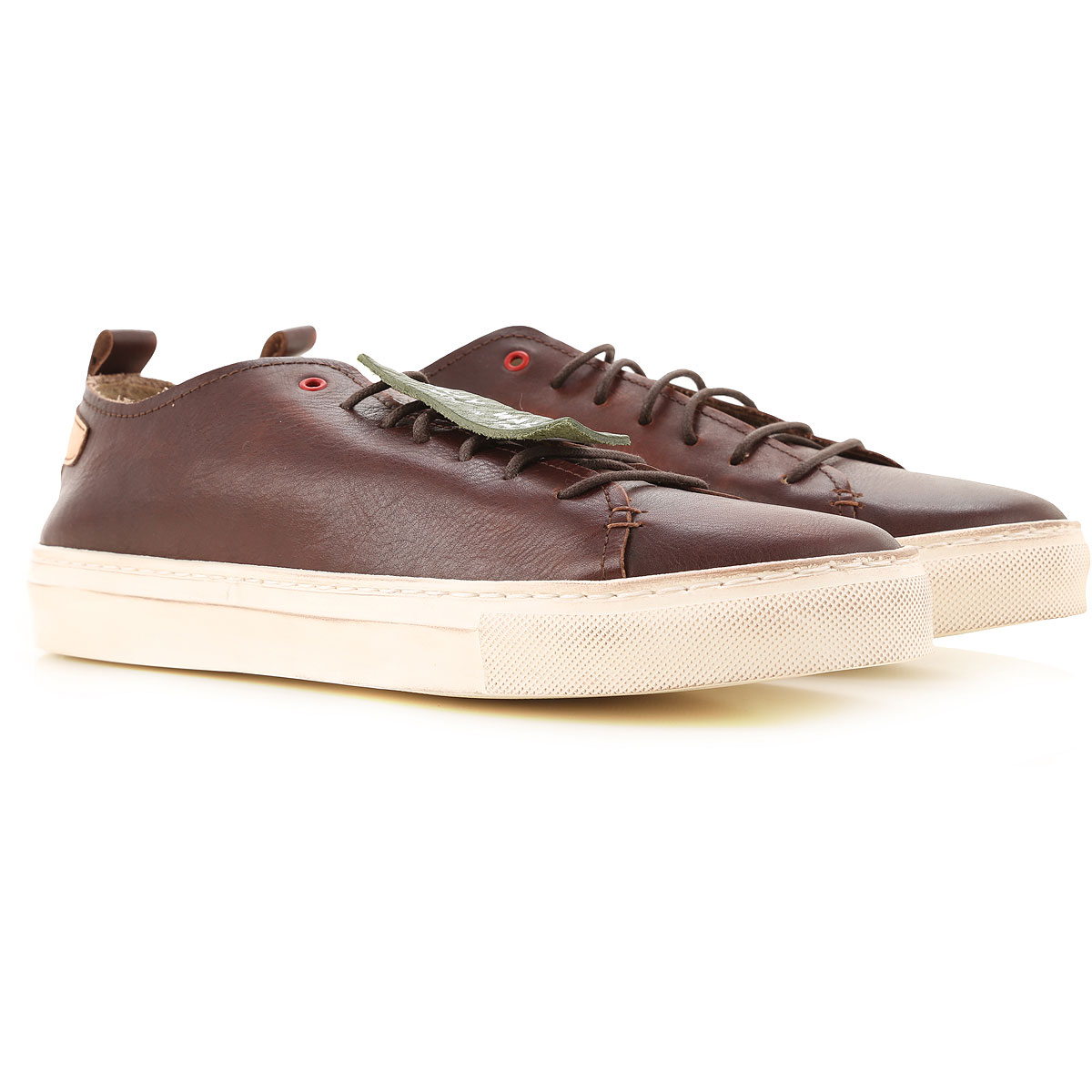 Wally Walker Sneakers for Men On Sale, Bordeaux Brown, Leather, 2019, 10 7.5 8