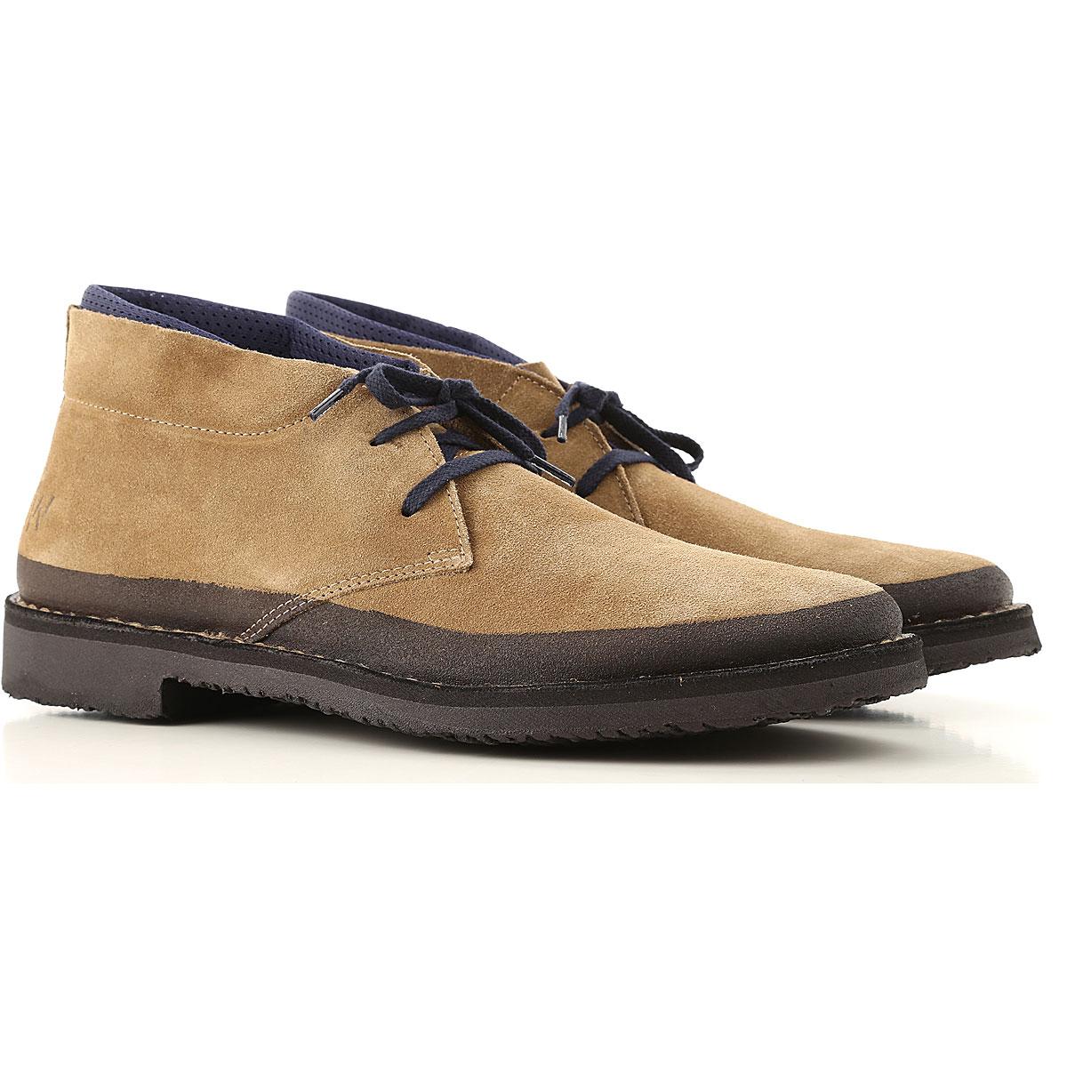 Wally Walker Desert Boots Chukka for Men On Sale, Beige, Suede leather, 2019, 10 10.5 7.5