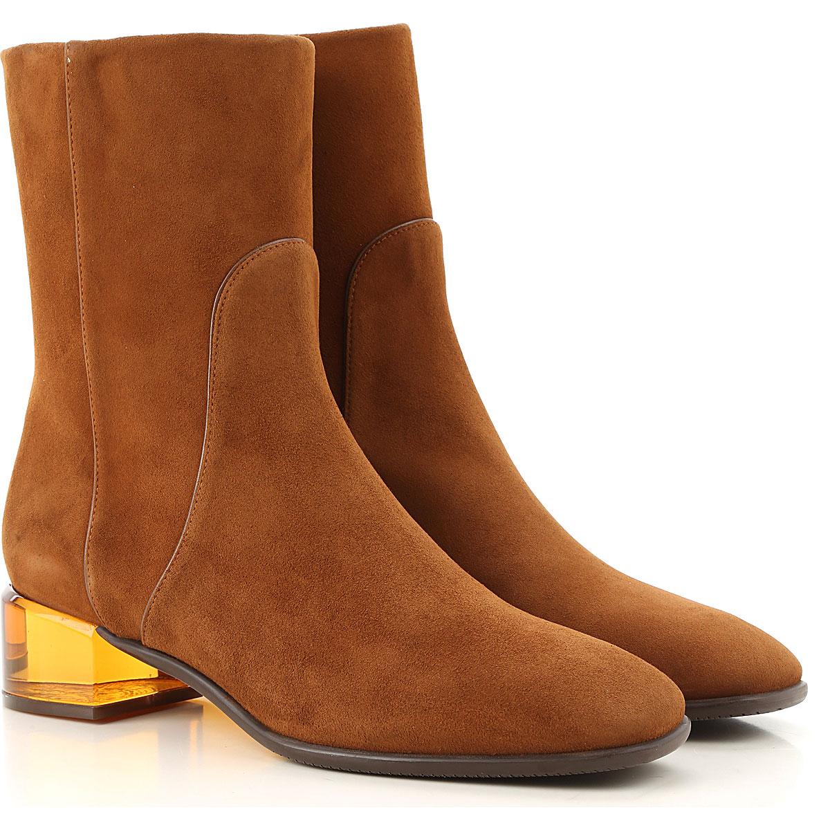 Stuart Weitzman Boots For Women, Booties On Sale, Coffee, Suede Leather, 2019, Us 4.5 ( Eu 35) Us 8.5  (Eu 39) Us 7.5  (Eu 38) Us 6.5 (Eu 37) Us 5.5 (Eu 36) Us 9.5 (Eu 40)