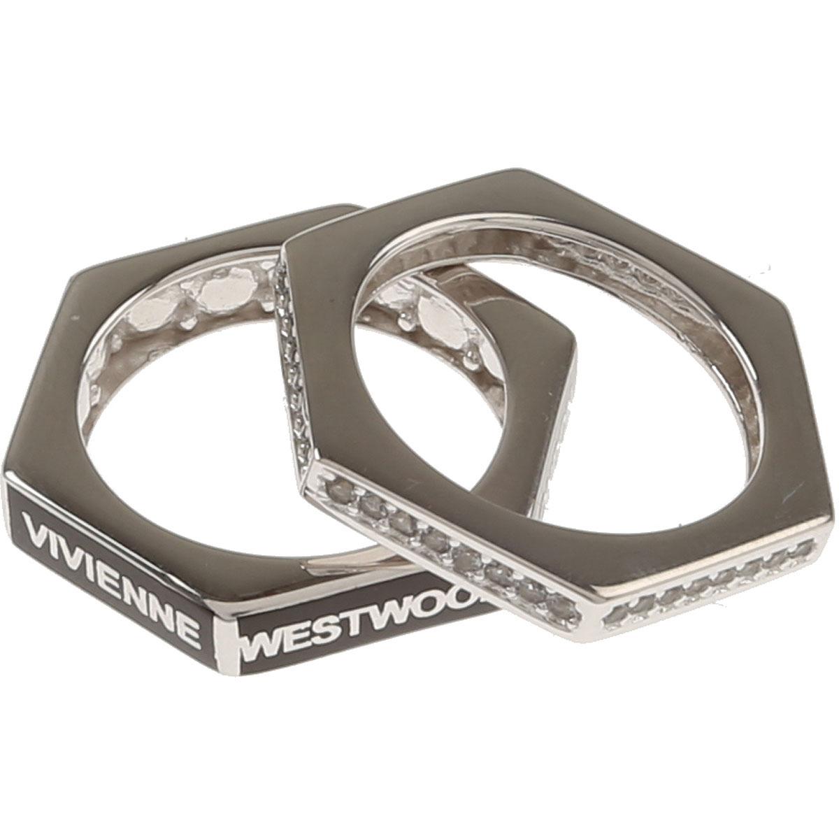 Image of Vivienne Westwood Ring for Men, Silver, Rhodium, 2017, Medium Large X-Large