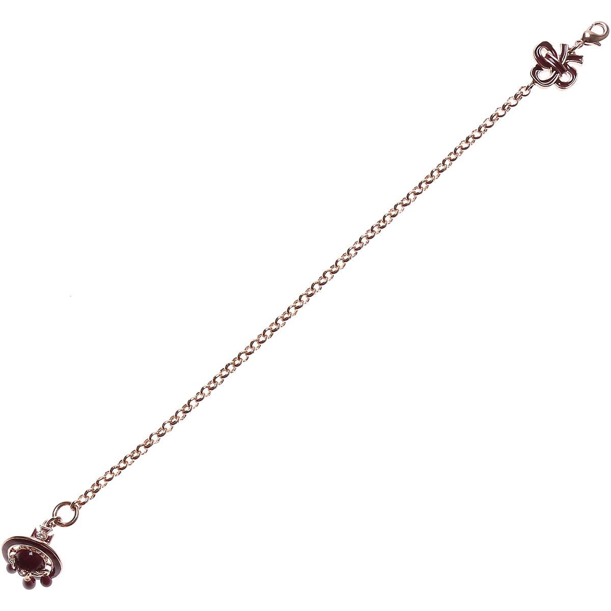Vivienne Westwood Bracelet for Women On Sale, Rose Gold, 2019