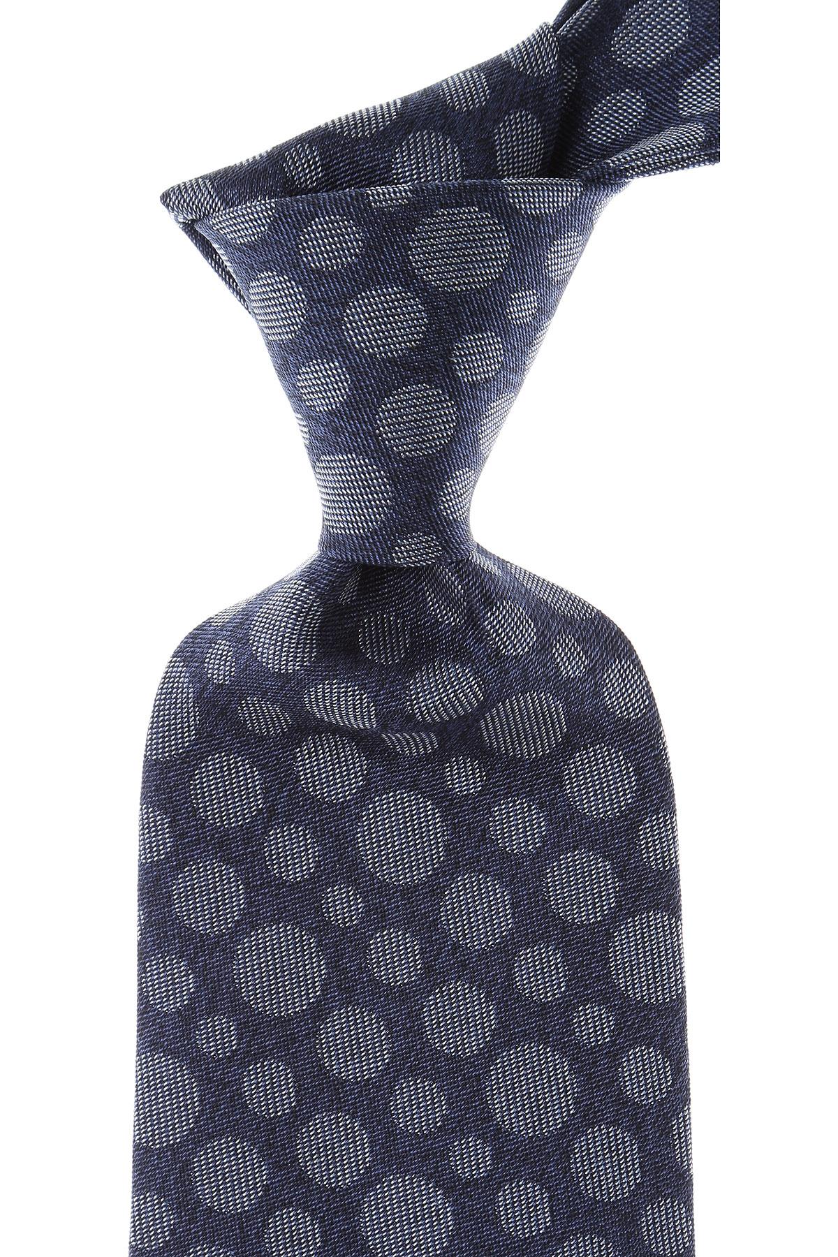 Vivienne Westwood Cravates Pas cher en Soldes, Bleu Mélange, Soie, 2019