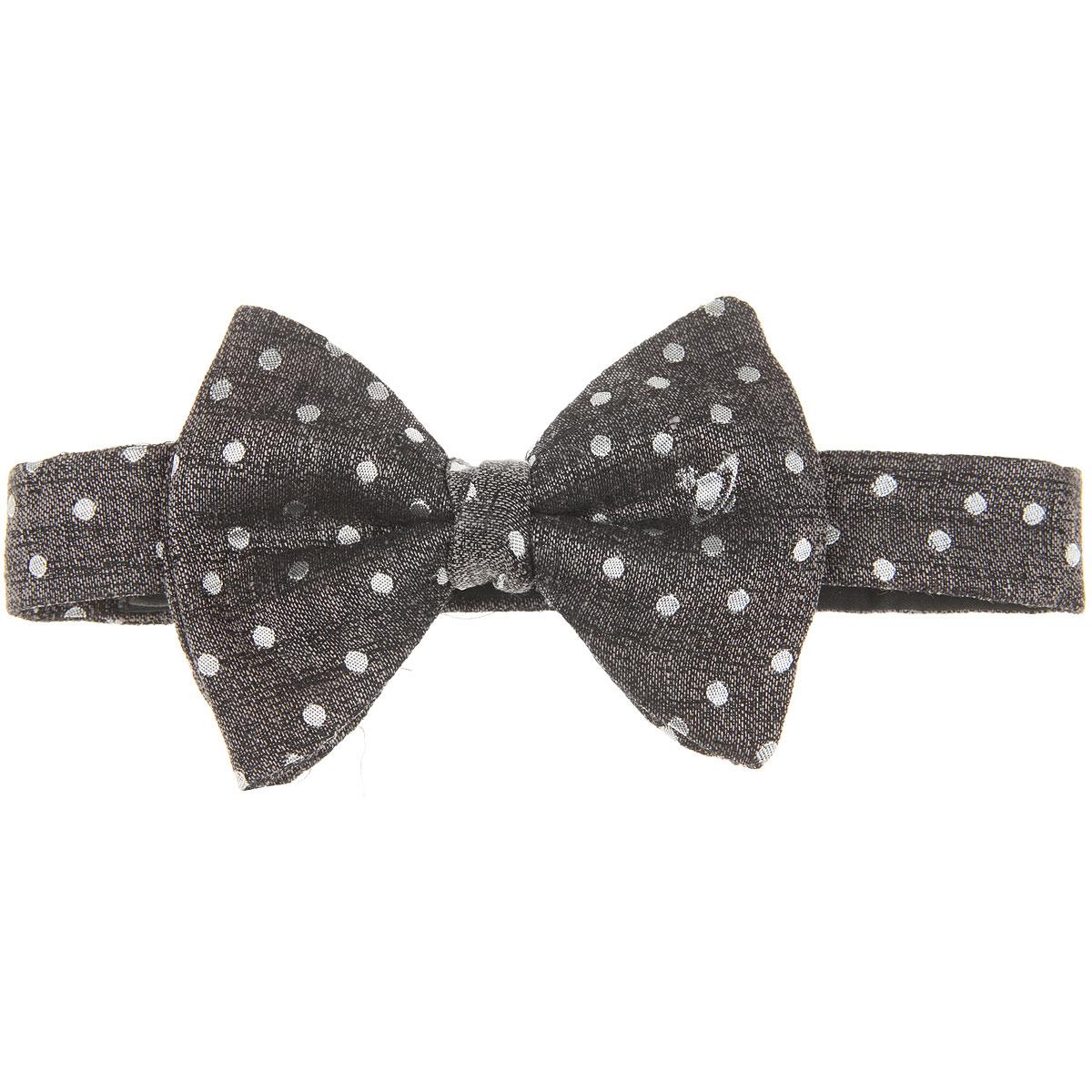 Vivienne Westwood Cravates Pas cher en Soldes, Mélange noir, Soie, 2019