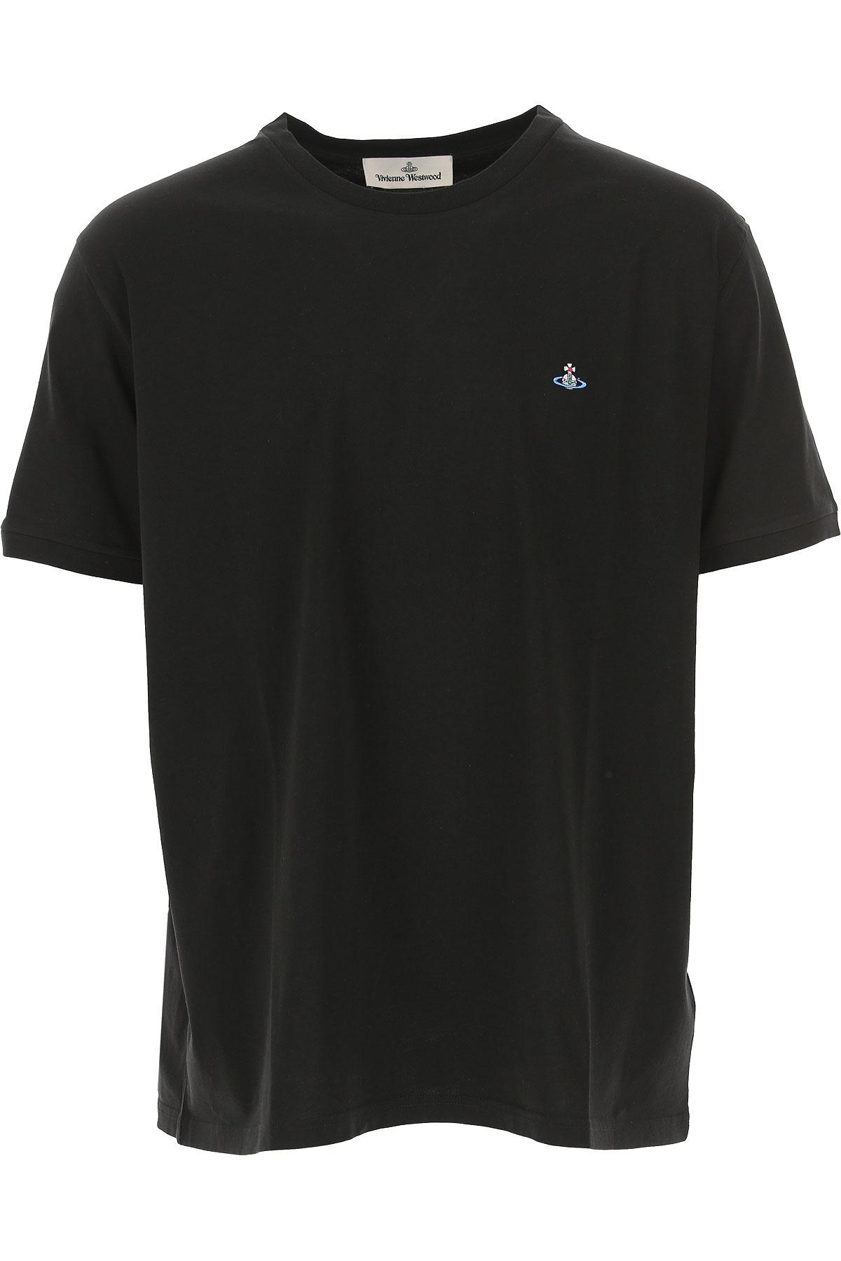 Vivienne Westwood T-shirt Homme Pas Cher En Soldes, Noir, Coton, 2019, L M S XL XS