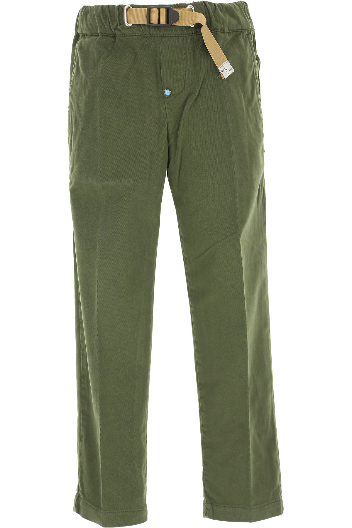 Image of White Sand Kids Pants for Boys, Military Green, Cotton, 2017, 10Y 14Y 2Y 4Y 6Y 8Y