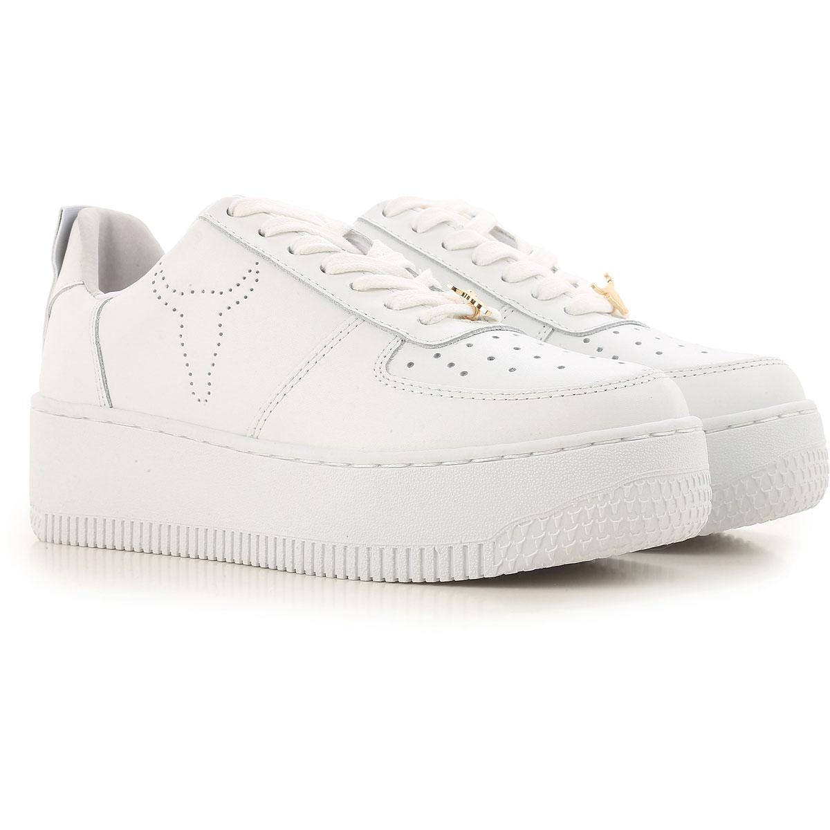 Image of Windsor Smith Sneakers for Women, White, Leather, 2017, US 5 (EU 36) US 7 (EU 38) US 8 (EU 39) US 9 (EU 40)